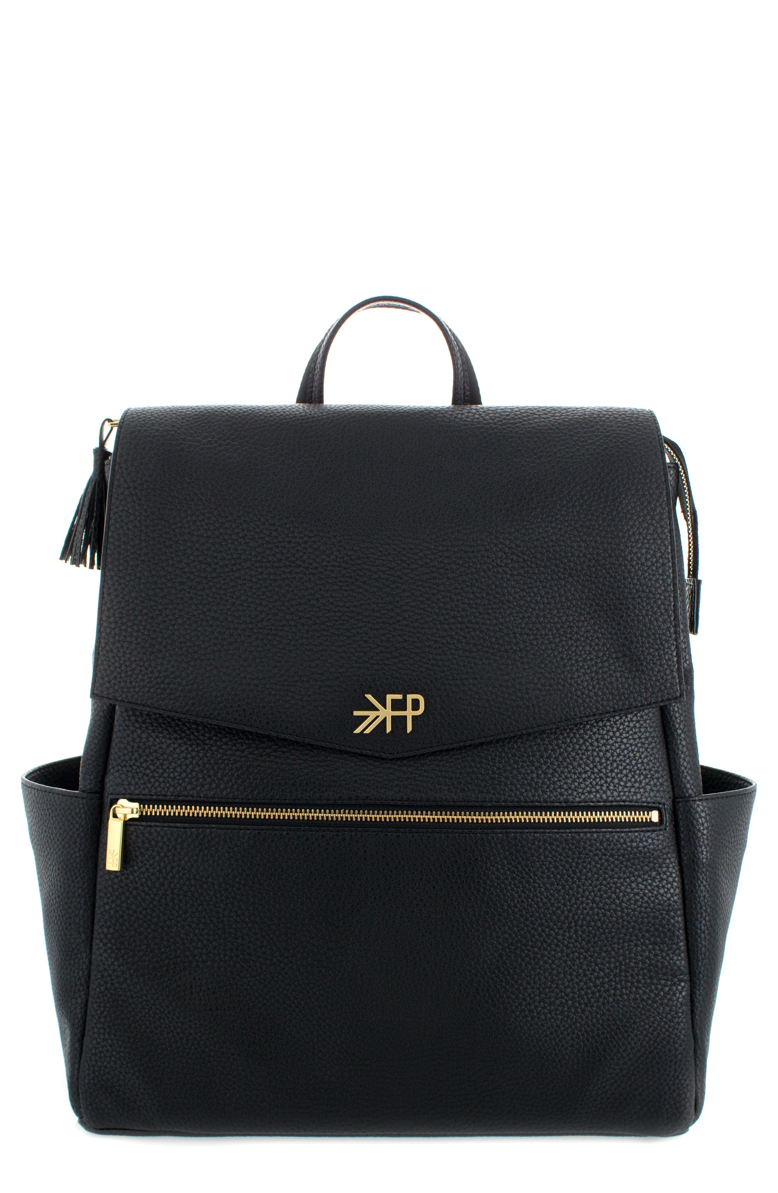 Convertible Diaper Backpack,                             Main thumbnail 1, color,                             EBONY