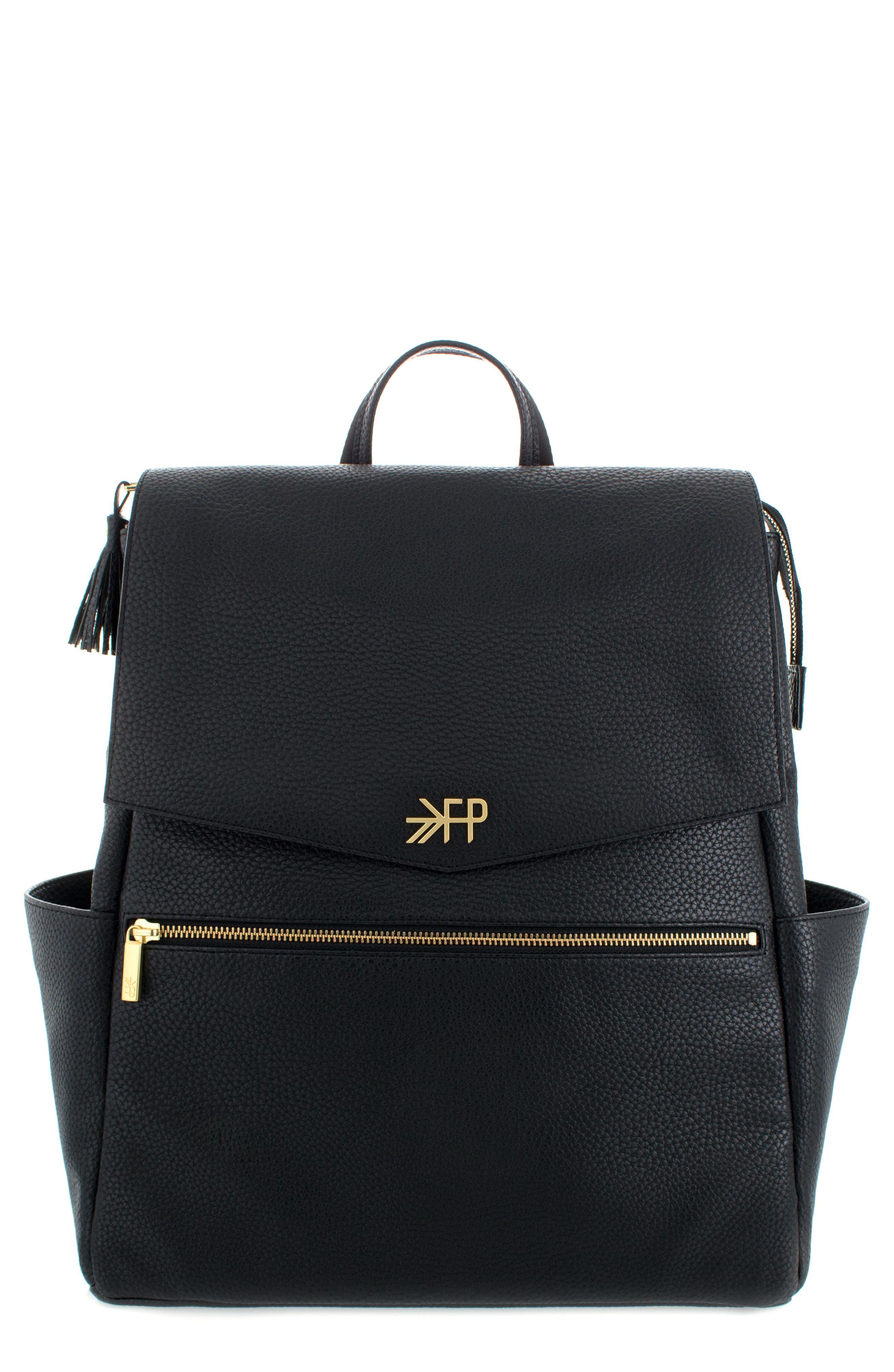 Convertible Diaper Backpack,                         Main,                         color, EBONY