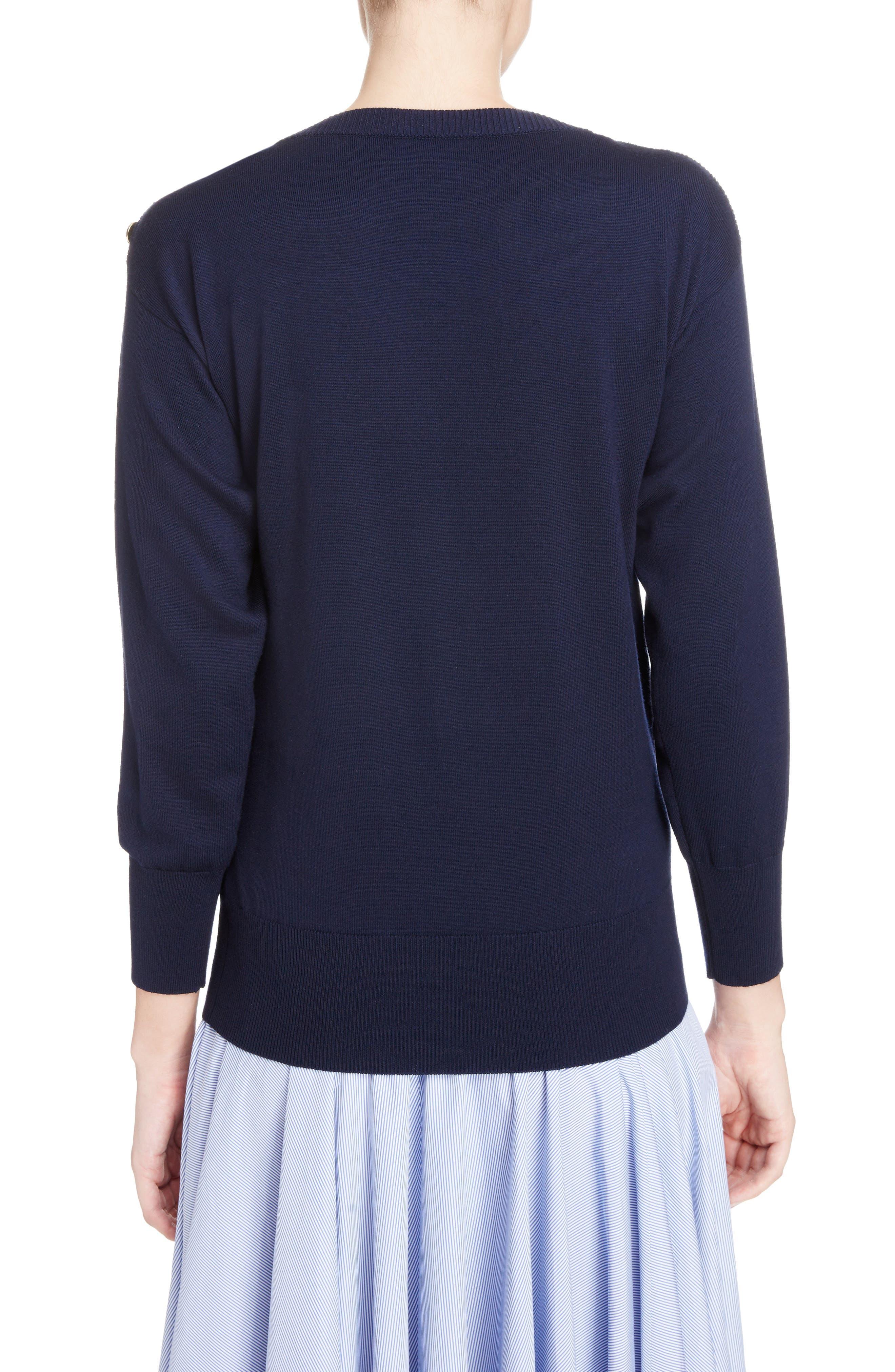 Summer Love Boatneck Sweater,                             Alternate thumbnail 2, color,                             410
