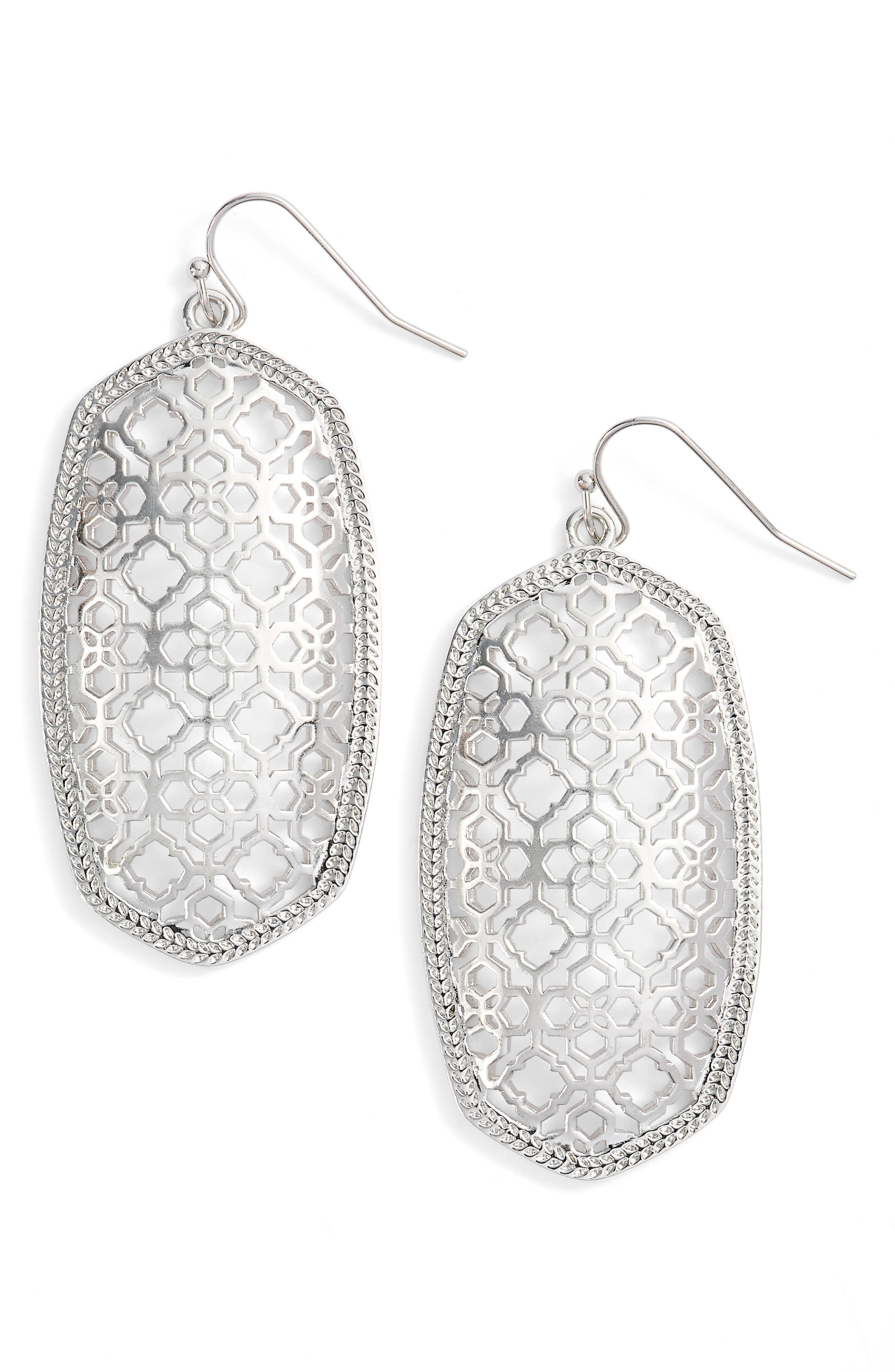 Danielle - Large Oval Statement Earrings,                             Main thumbnail 41, color,