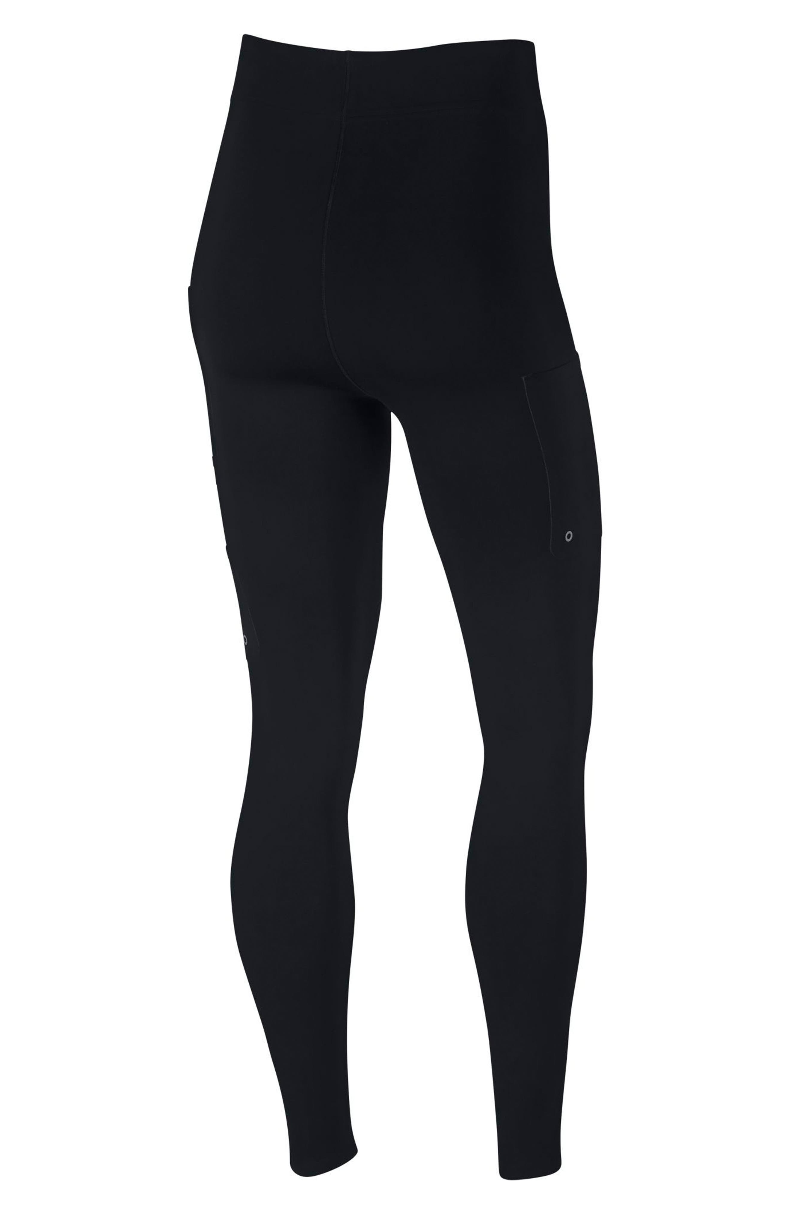 NikeLab XX Women's High Rise Training Tights,                             Alternate thumbnail 8, color,                             BLACK