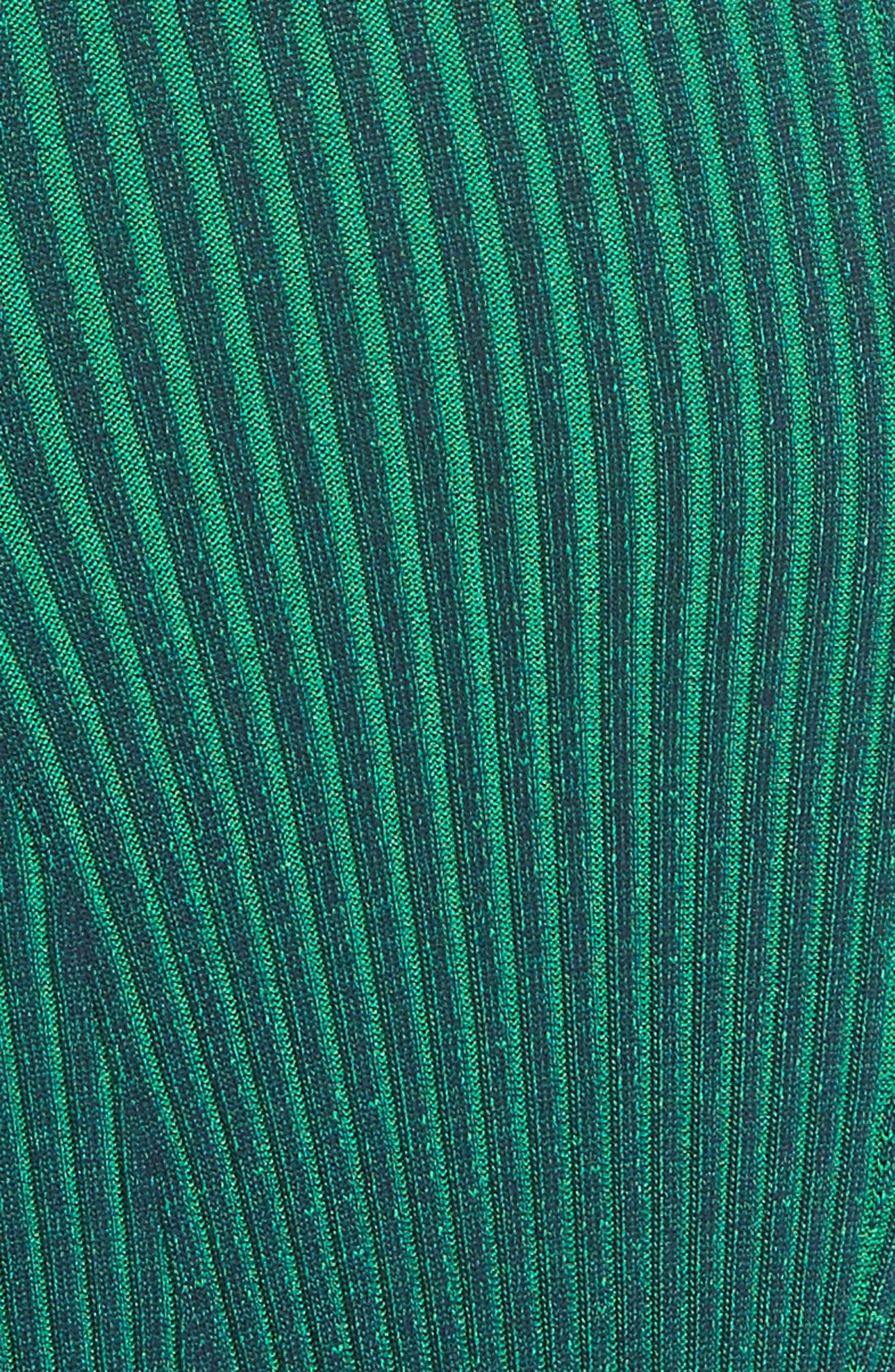 T by Alexander Wang Ribbed Maxi Dress,                             Alternate thumbnail 5, color,                             418