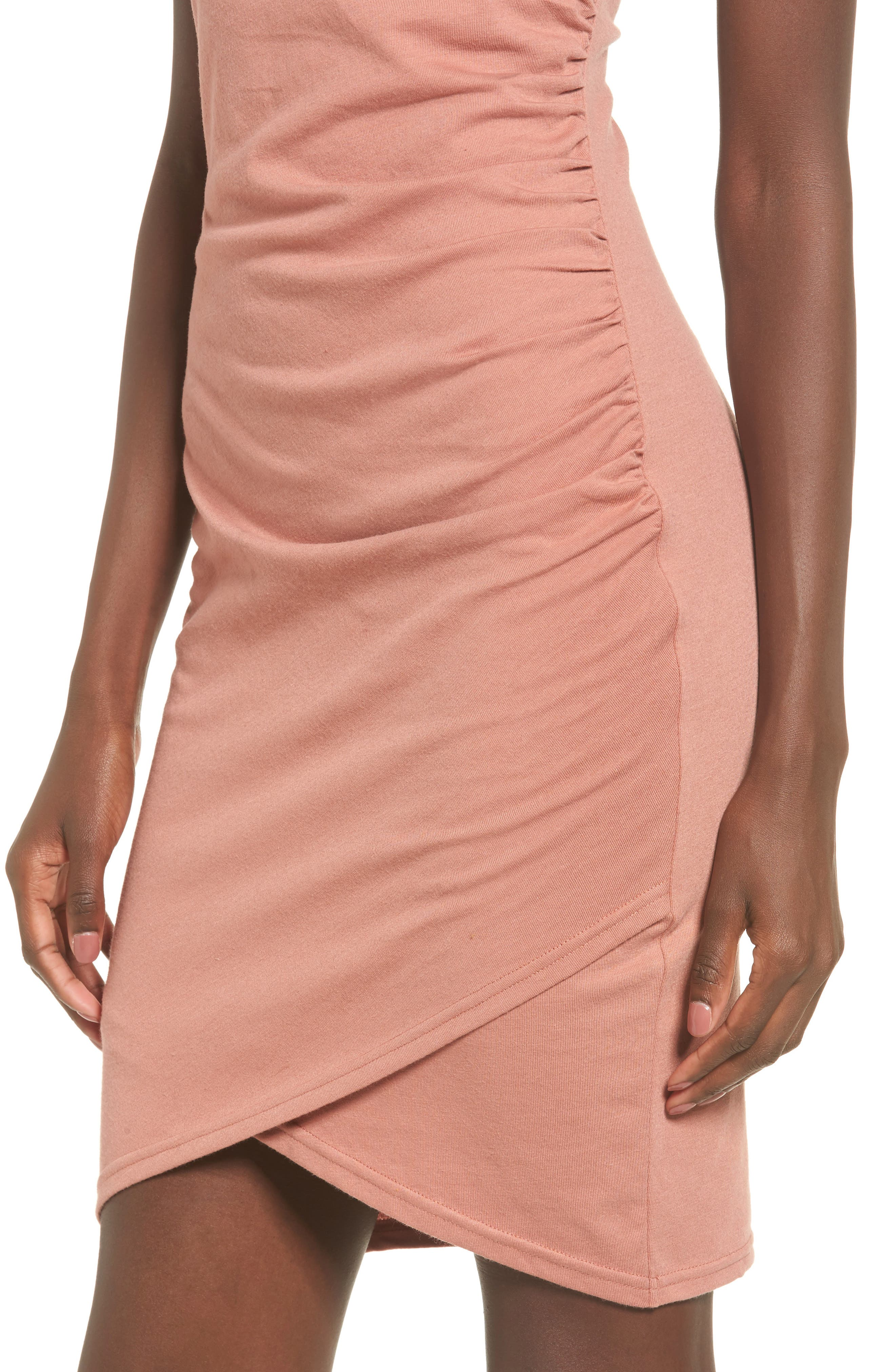 Ruched Body-Con Tank Dress,                             Alternate thumbnail 124, color,