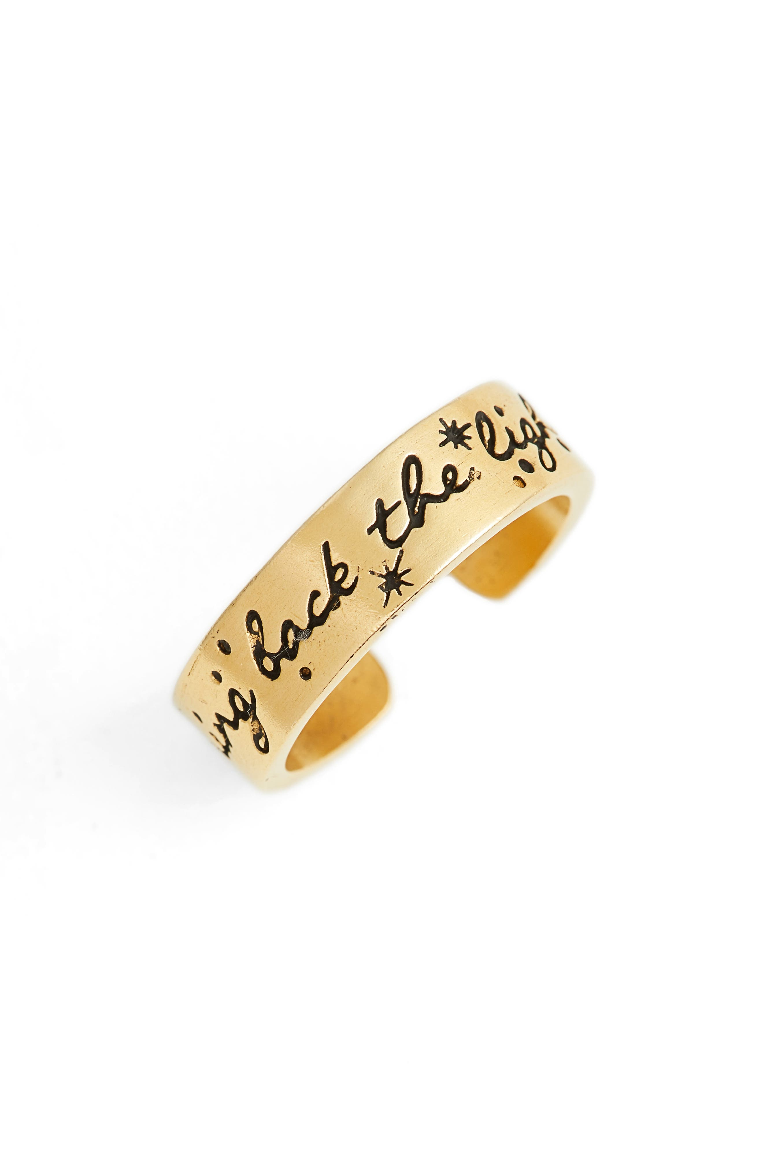 x Disney<sup>®</sup> 'A Wrinkle in Time' Bring Back the Light Ring,                             Main thumbnail 1, color,