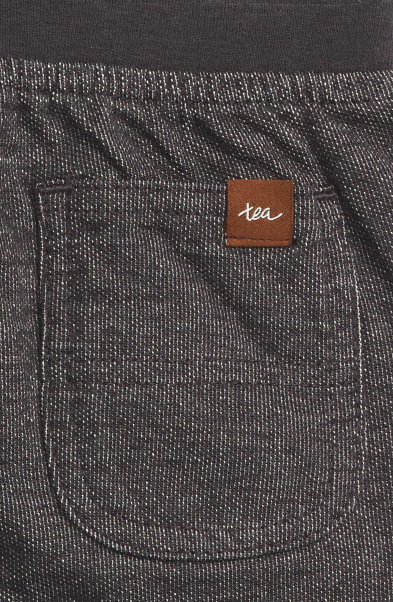 Denim Look Pants,                             Alternate thumbnail 3, color,