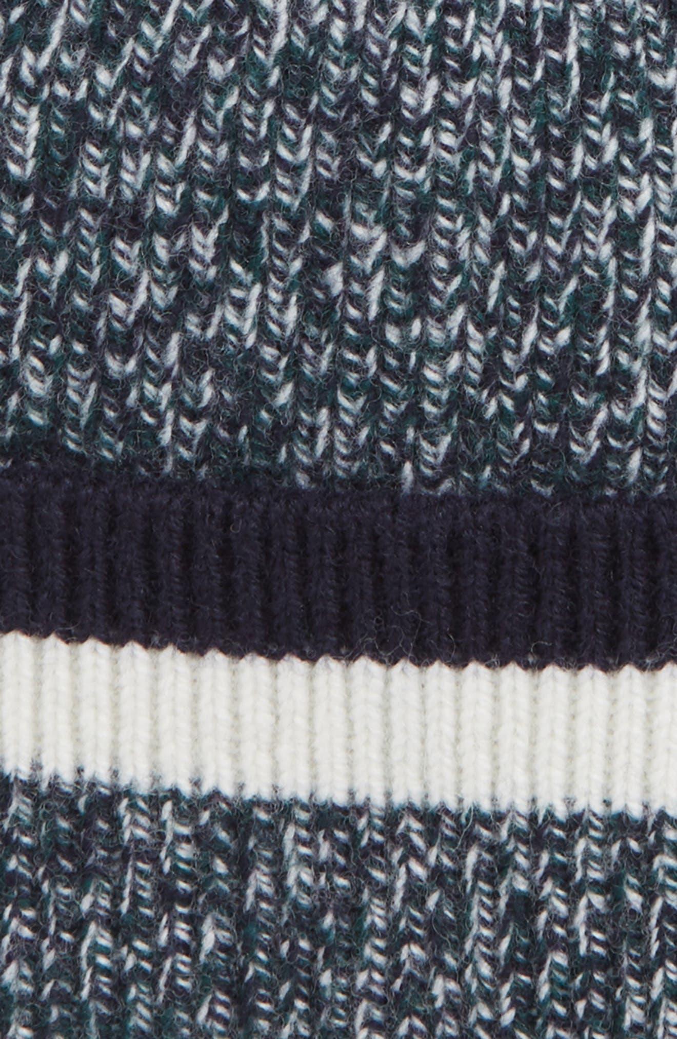 Striped Wool Beanie,                             Alternate thumbnail 2, color,                             311