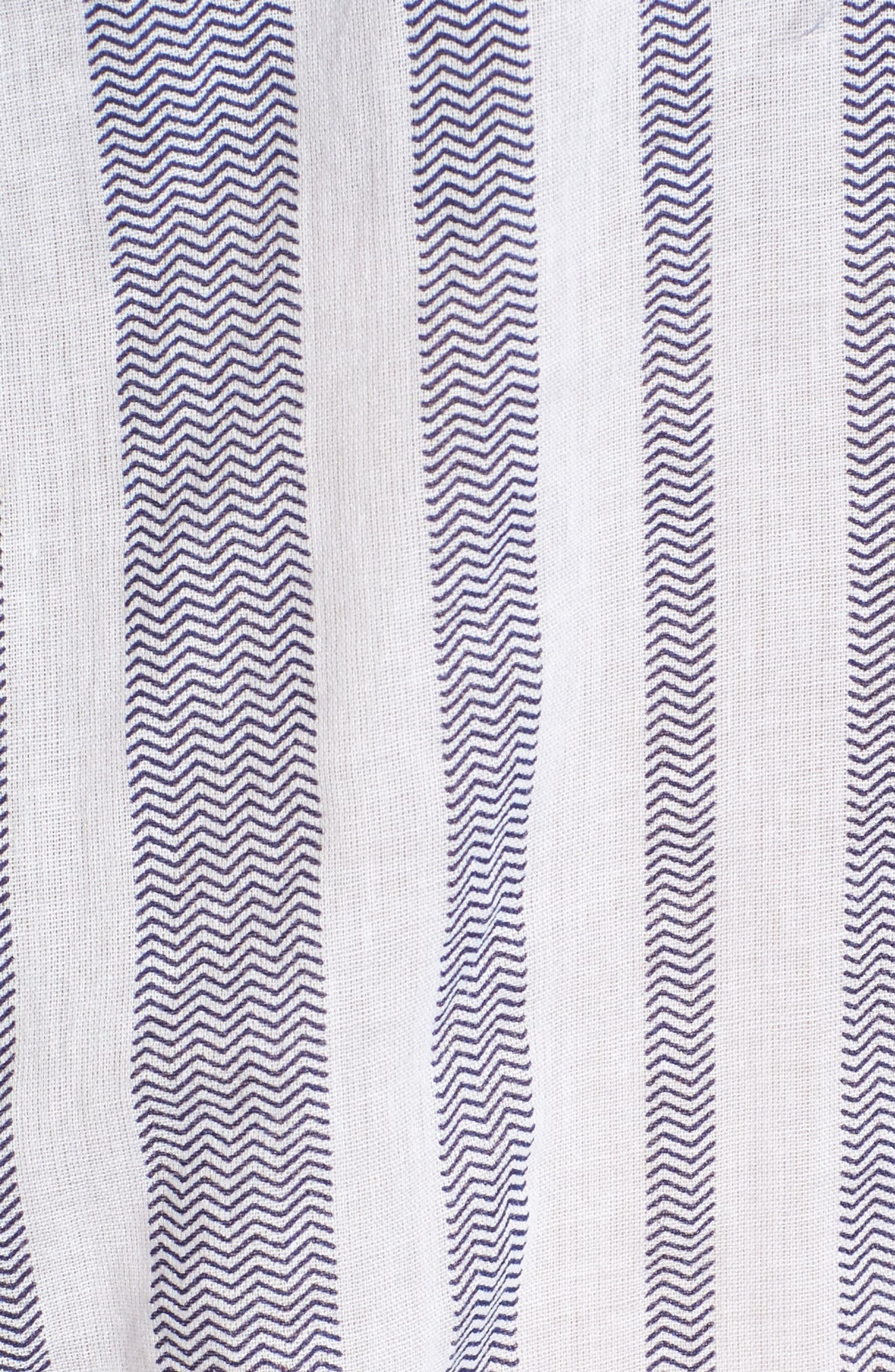 Setting Sail Embroidered Stripe Henley,                             Alternate thumbnail 5, color,                             470