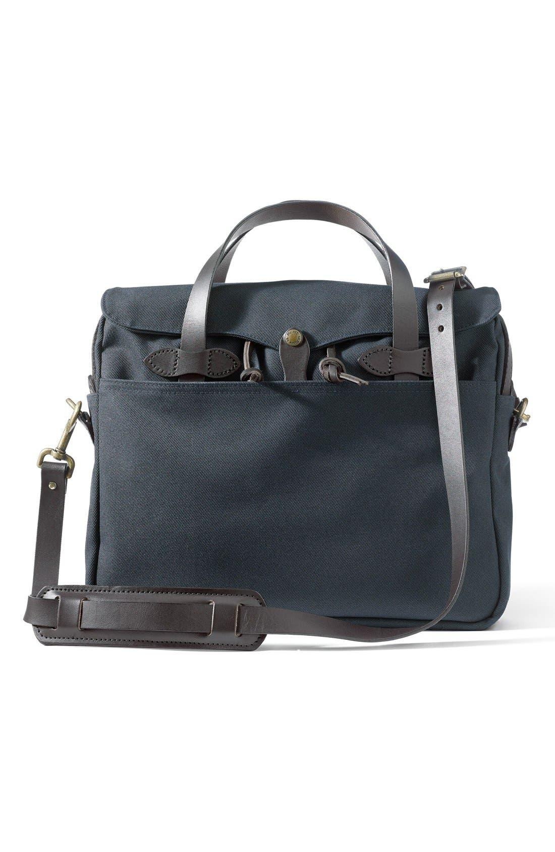 Original Briefcase,                         Main,                         color, NAVY