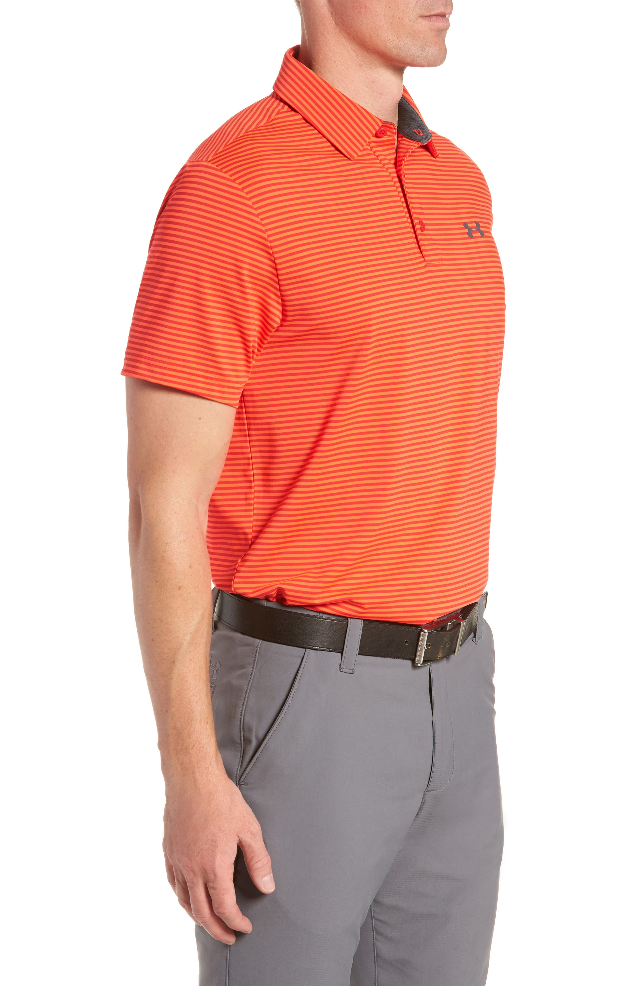 'Playoff' Loose Fit Short Sleeve Polo,                             Alternate thumbnail 124, color,