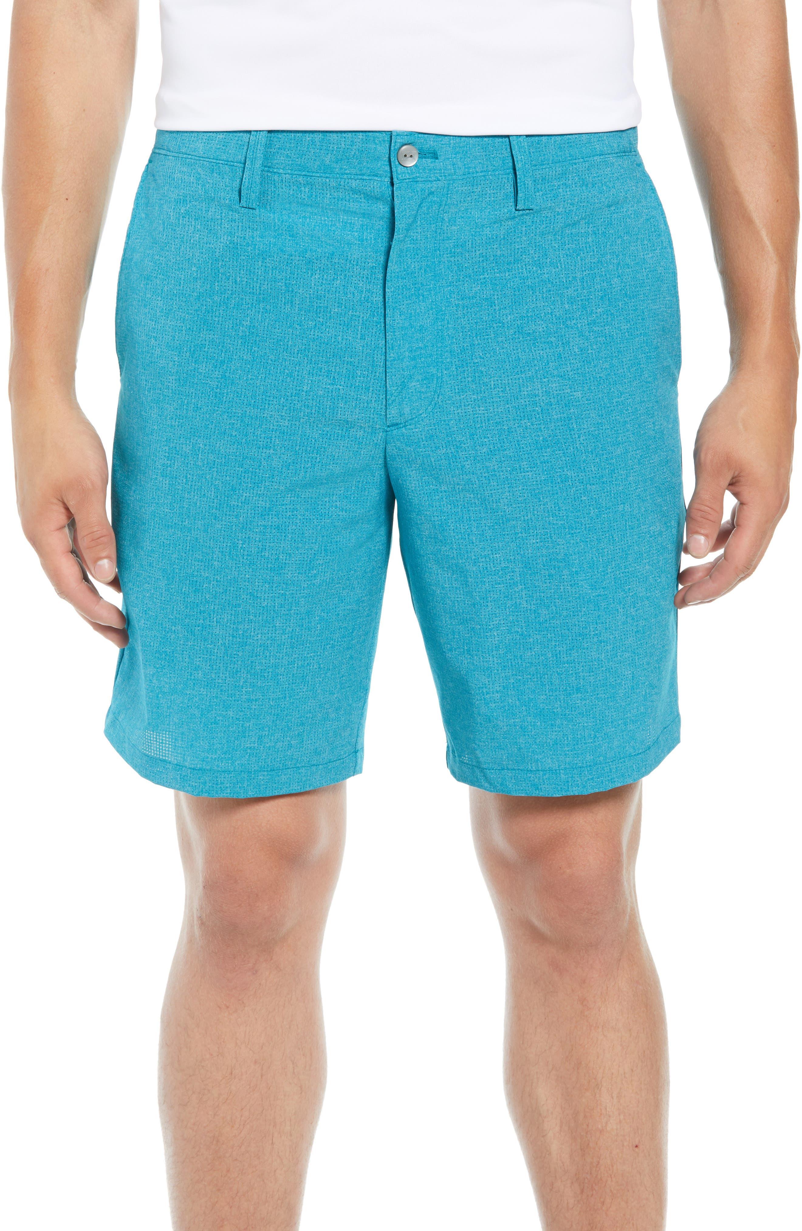 Trevor DryTec Golf Shorts,                             Main thumbnail 1, color,                             AQUATIC