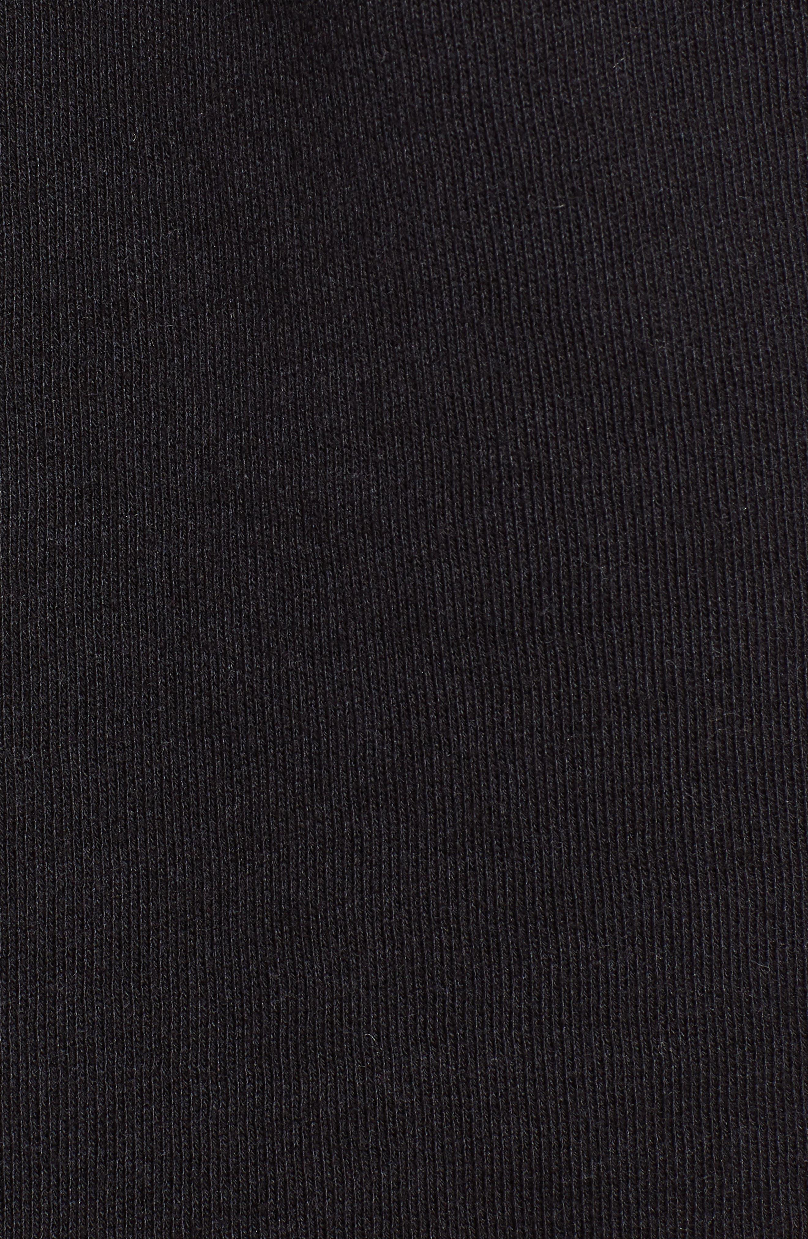 Golden Shorts,                             Alternate thumbnail 5, color,                             JET BLACK