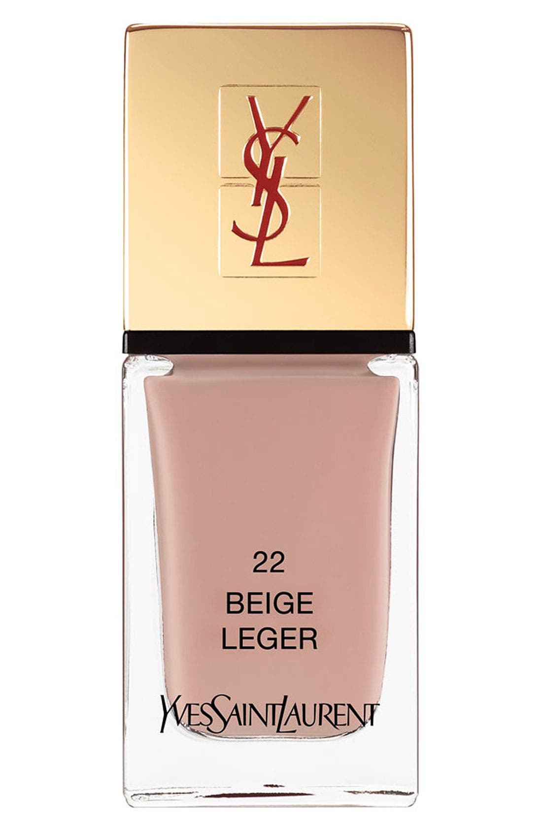 La Laque Couture Nail Lacquer,                             Main thumbnail 1, color,                             22 BEIGE LEGER