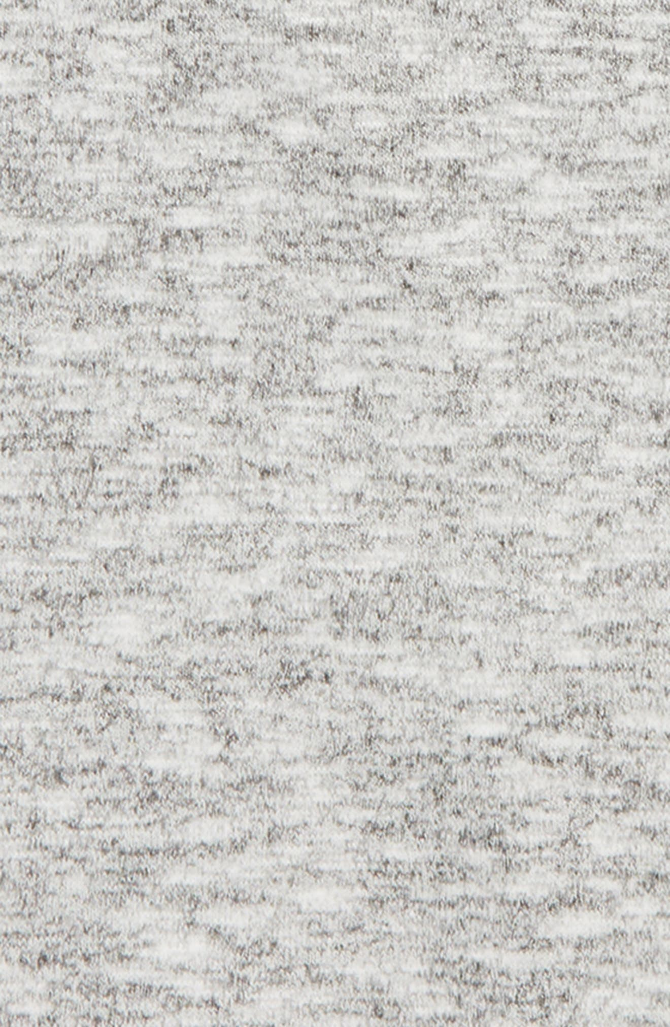 Zella Open Back Sweater,                             Alternate thumbnail 3, color,                             001