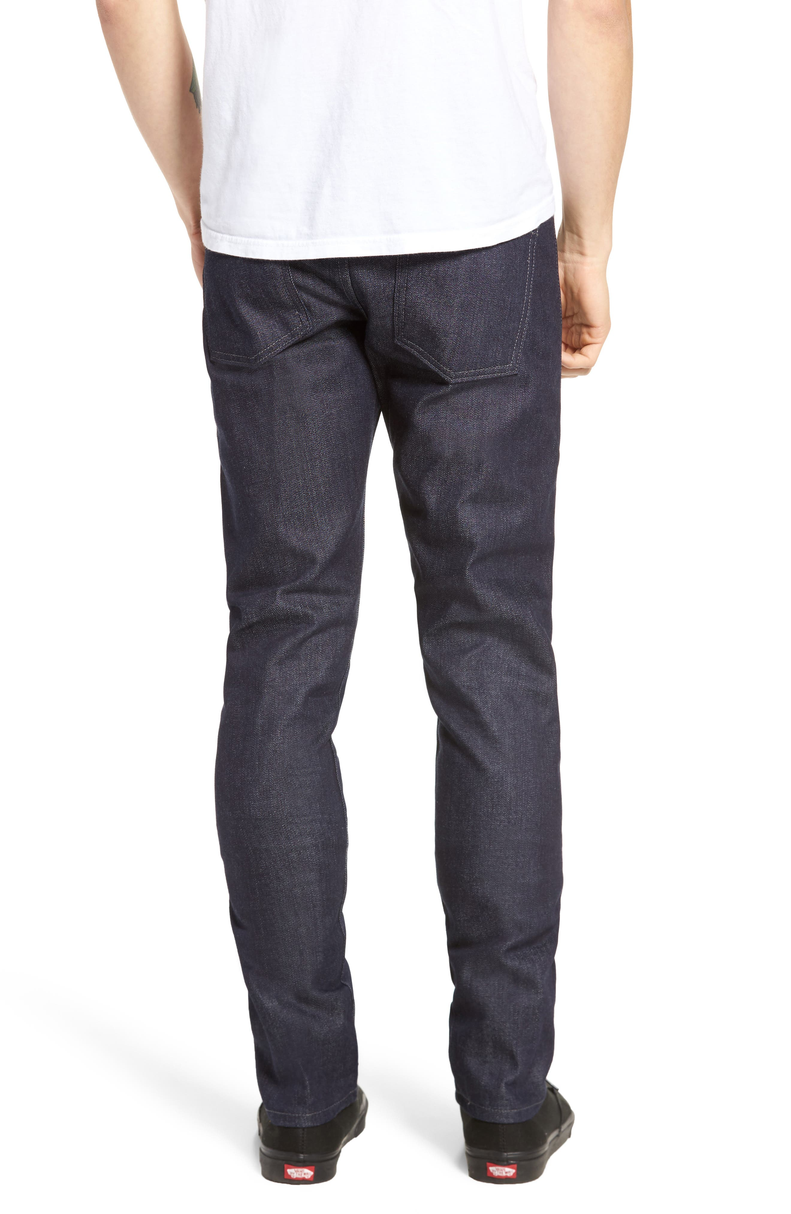 Naked & Famous Super Skinny Guy Skinny Fit Jeans,                             Alternate thumbnail 2, color,                             INDIGO