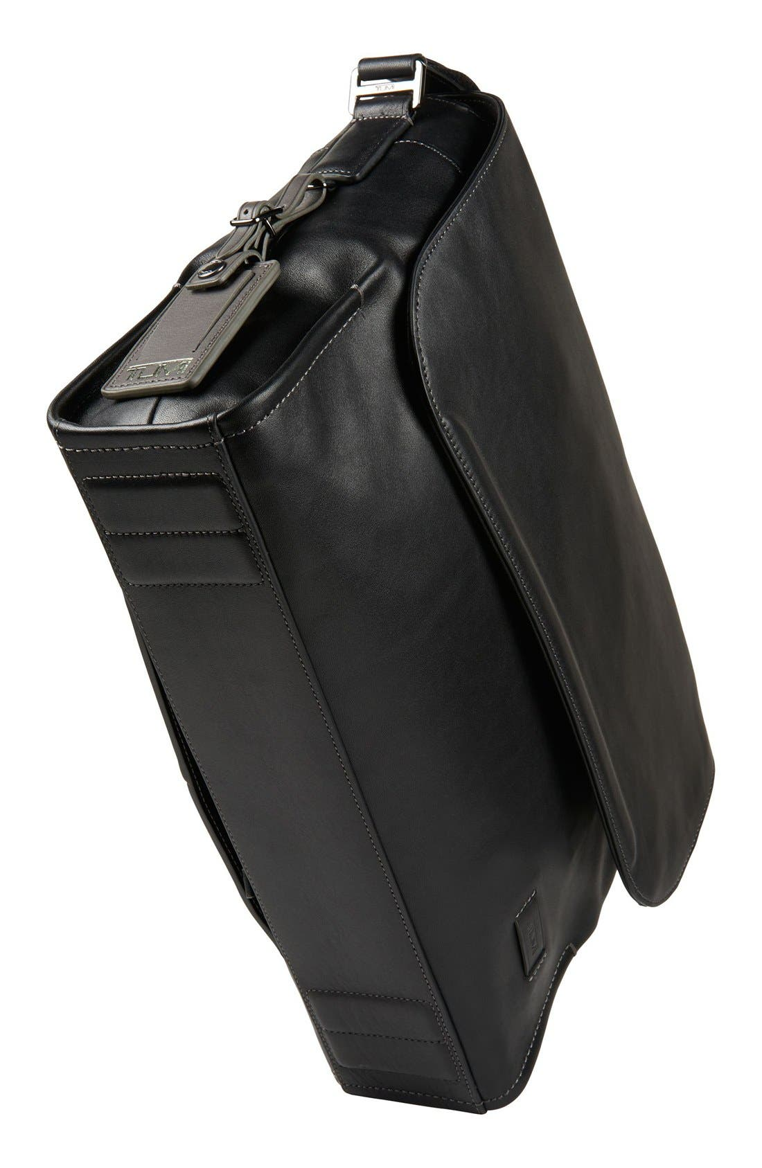 'Harrison - Mathews' Messenger Bag,                             Alternate thumbnail 3, color,                             001