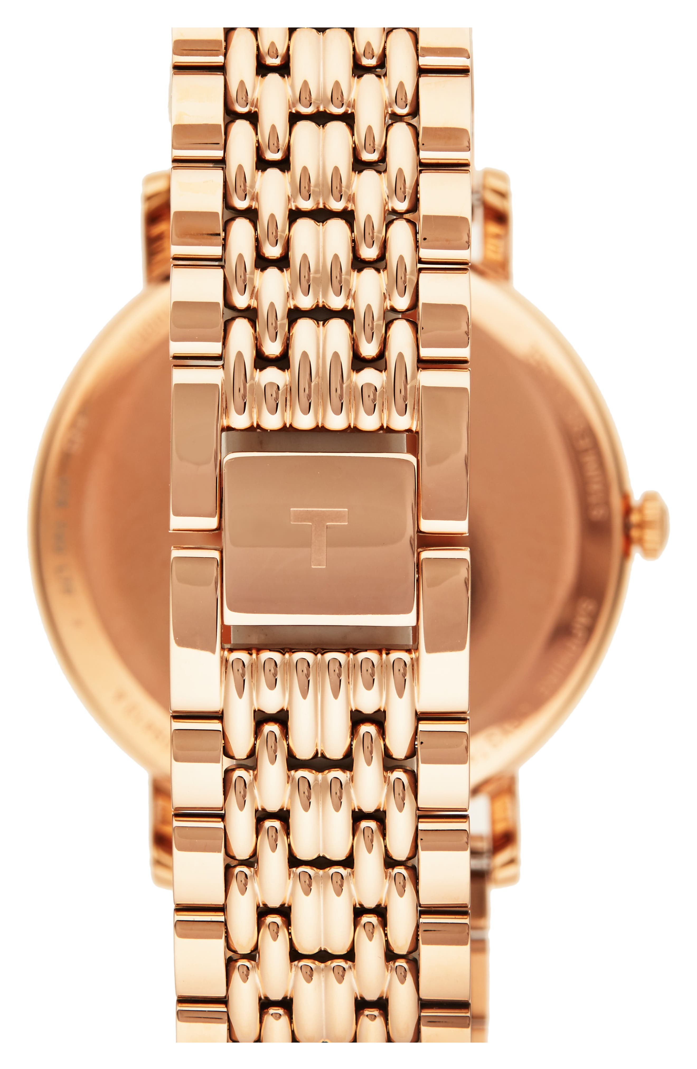 Everytime Medium Bracelet Watch, 38mm,                             Alternate thumbnail 2, color,                             ROSE GOLD/ SILVER/ ROSE GOLD
