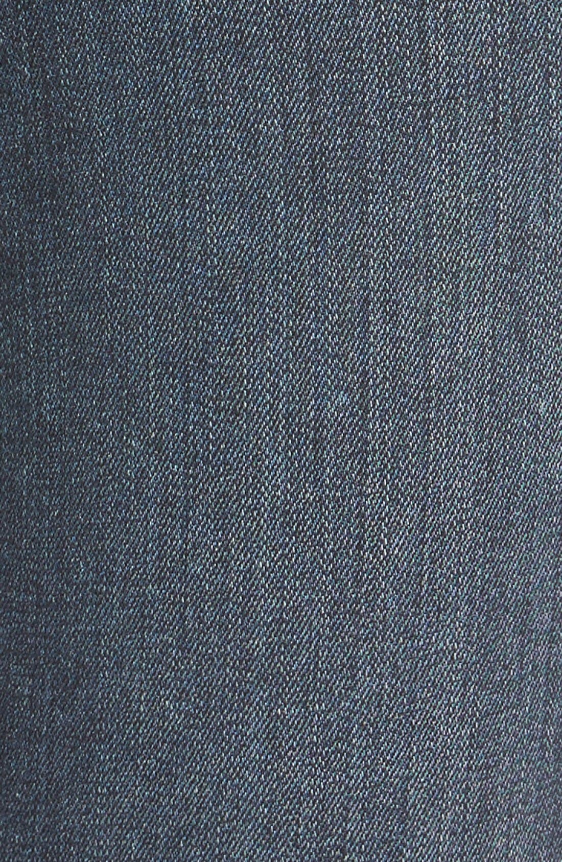 Transcend Skyline Skinny Jeans,                             Alternate thumbnail 4, color,                             BRENTYN