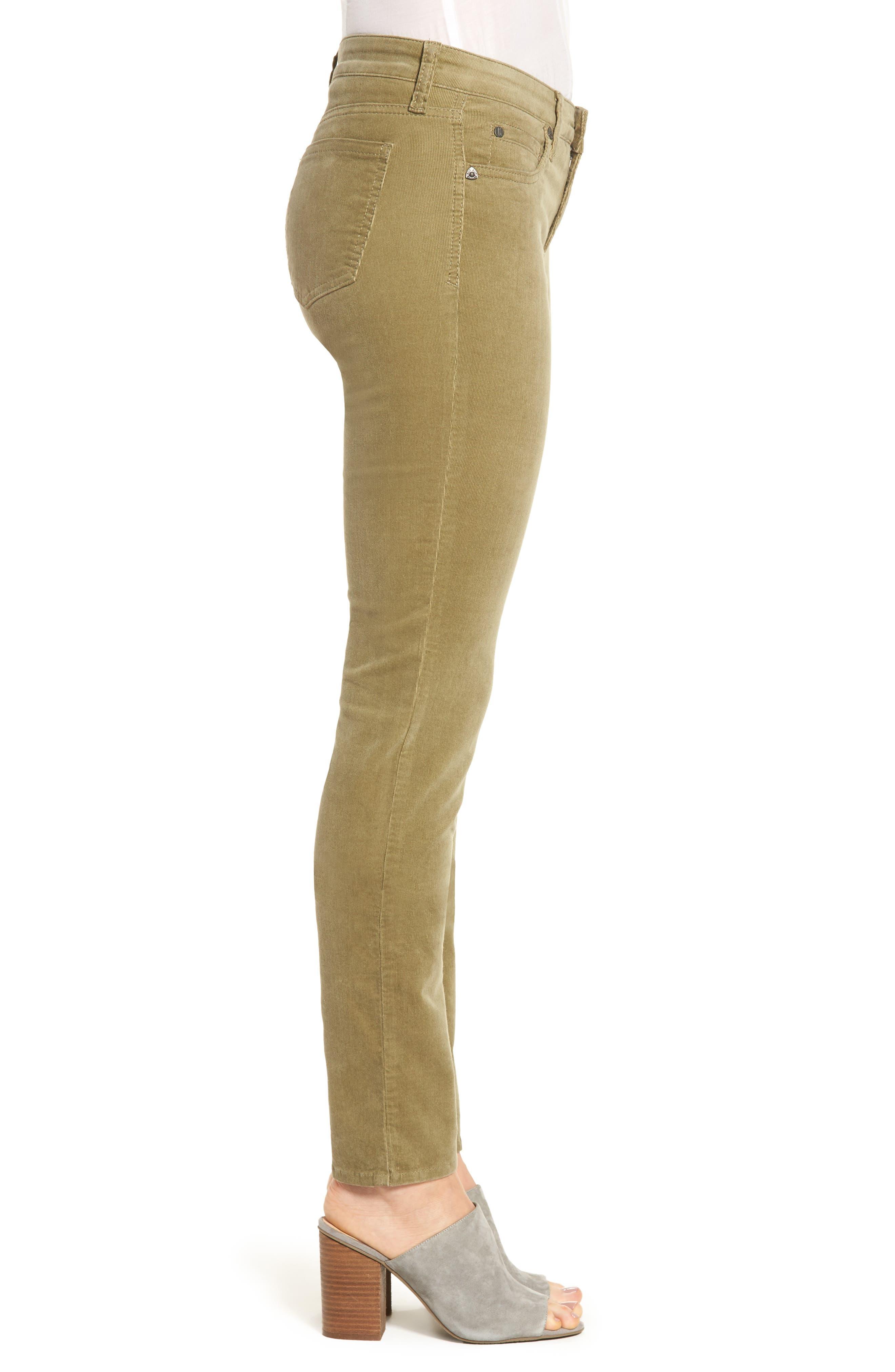 'Diana' Stretch Corduroy Skinny Pants,                             Alternate thumbnail 132, color,