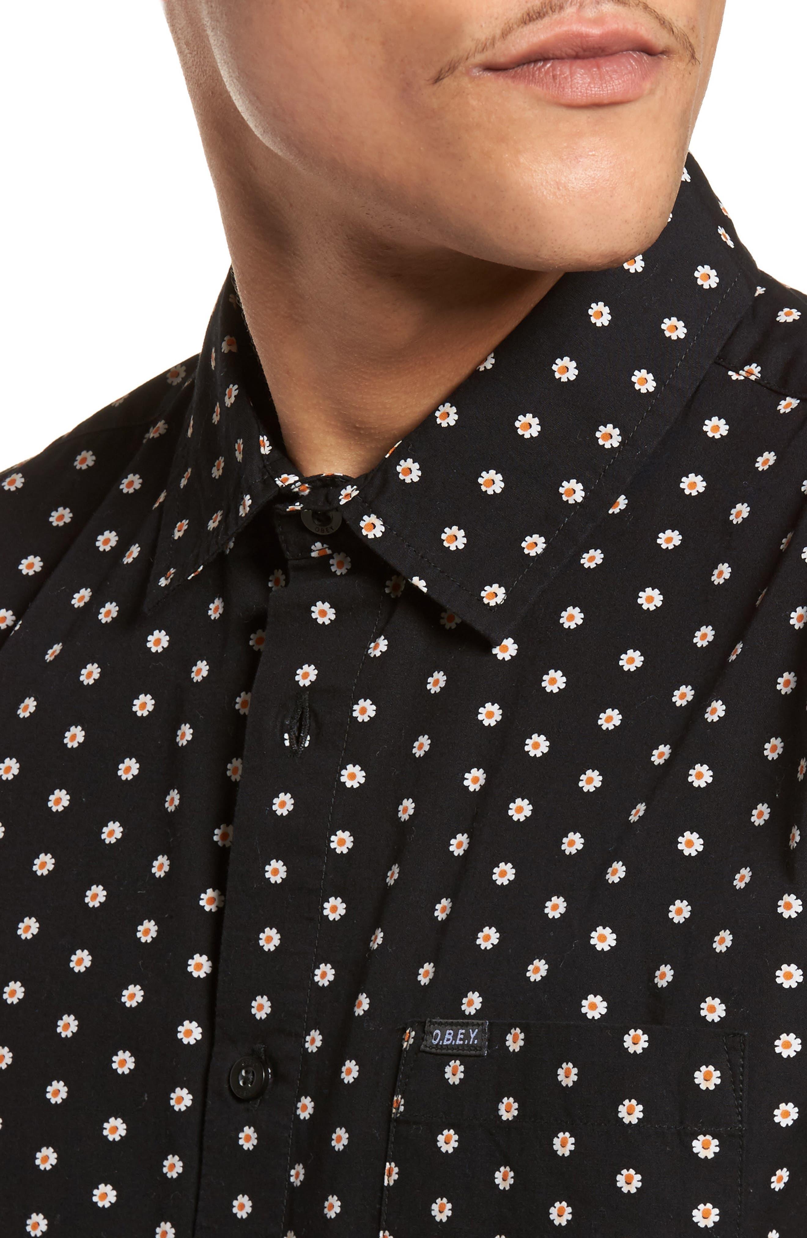 Brighton Short Sleeve Shirt,                             Alternate thumbnail 4, color,                             002