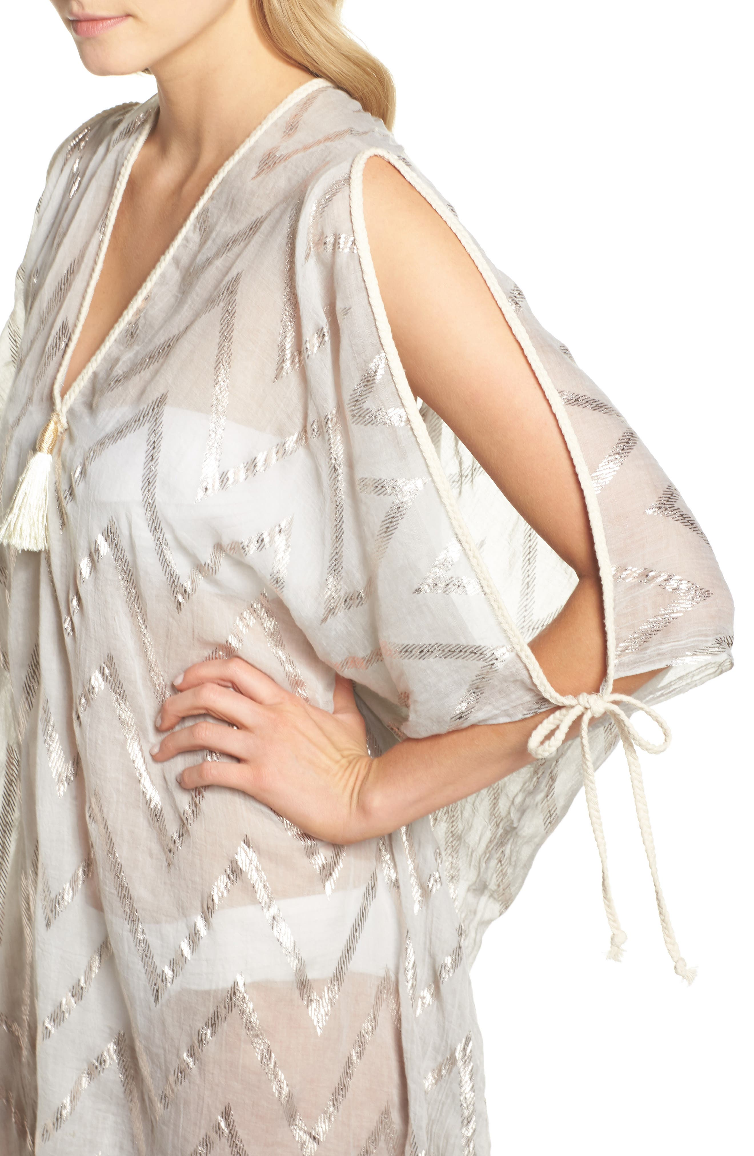 Caftan Cover-Up,                             Alternate thumbnail 4, color,                             280