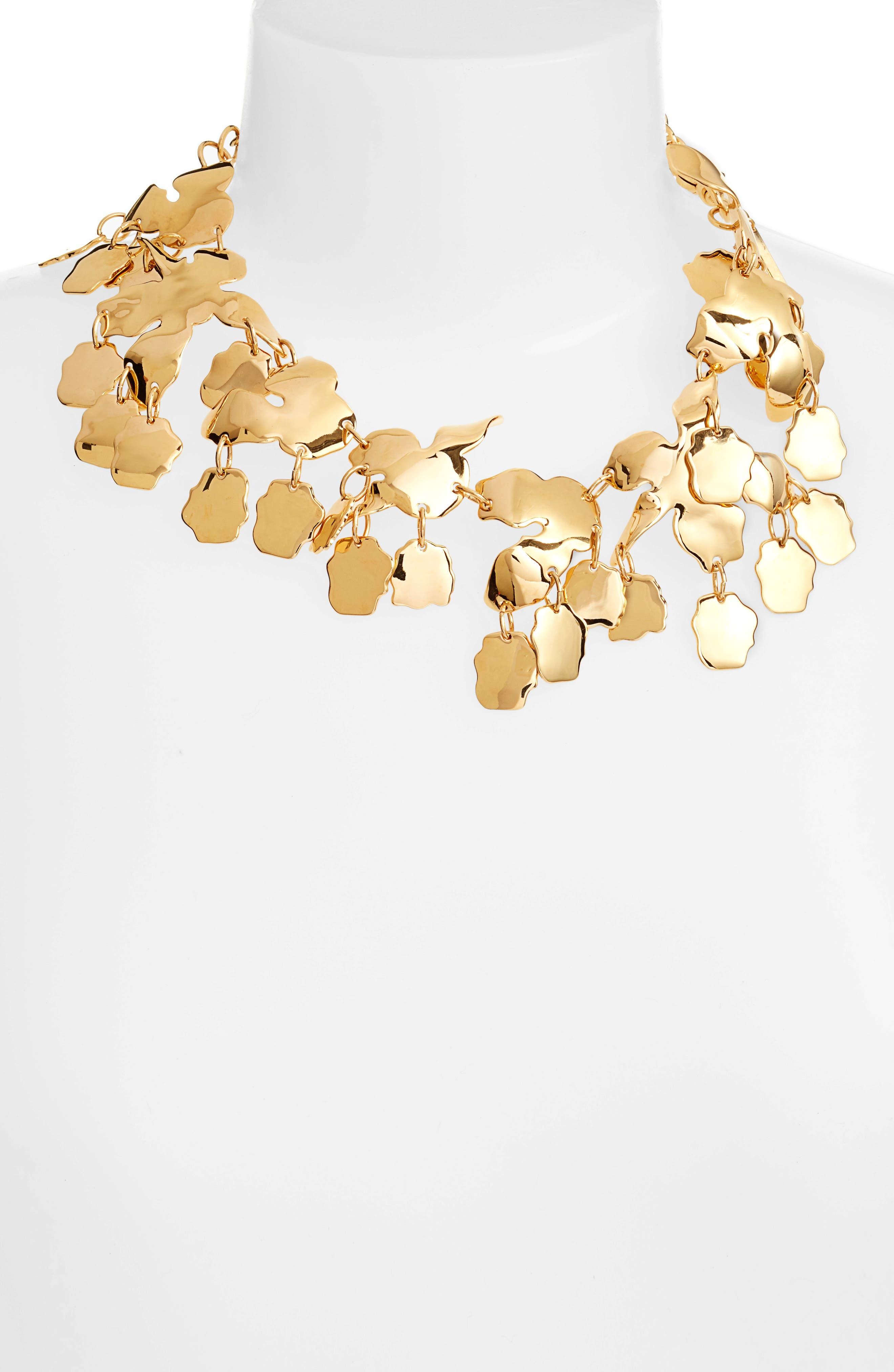 Golden Lily Necklace,                             Alternate thumbnail 2, color,                             710
