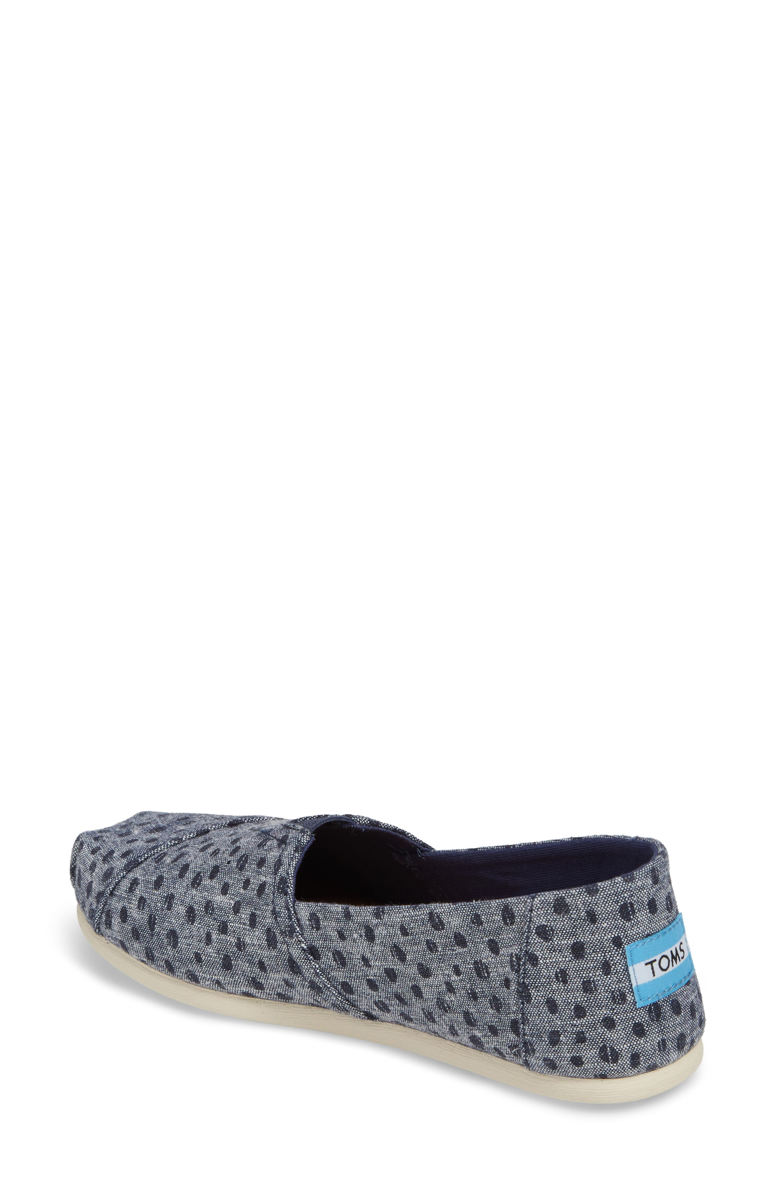 Alpargata Chambray Slip-On,                             Alternate thumbnail 2, color,                             410