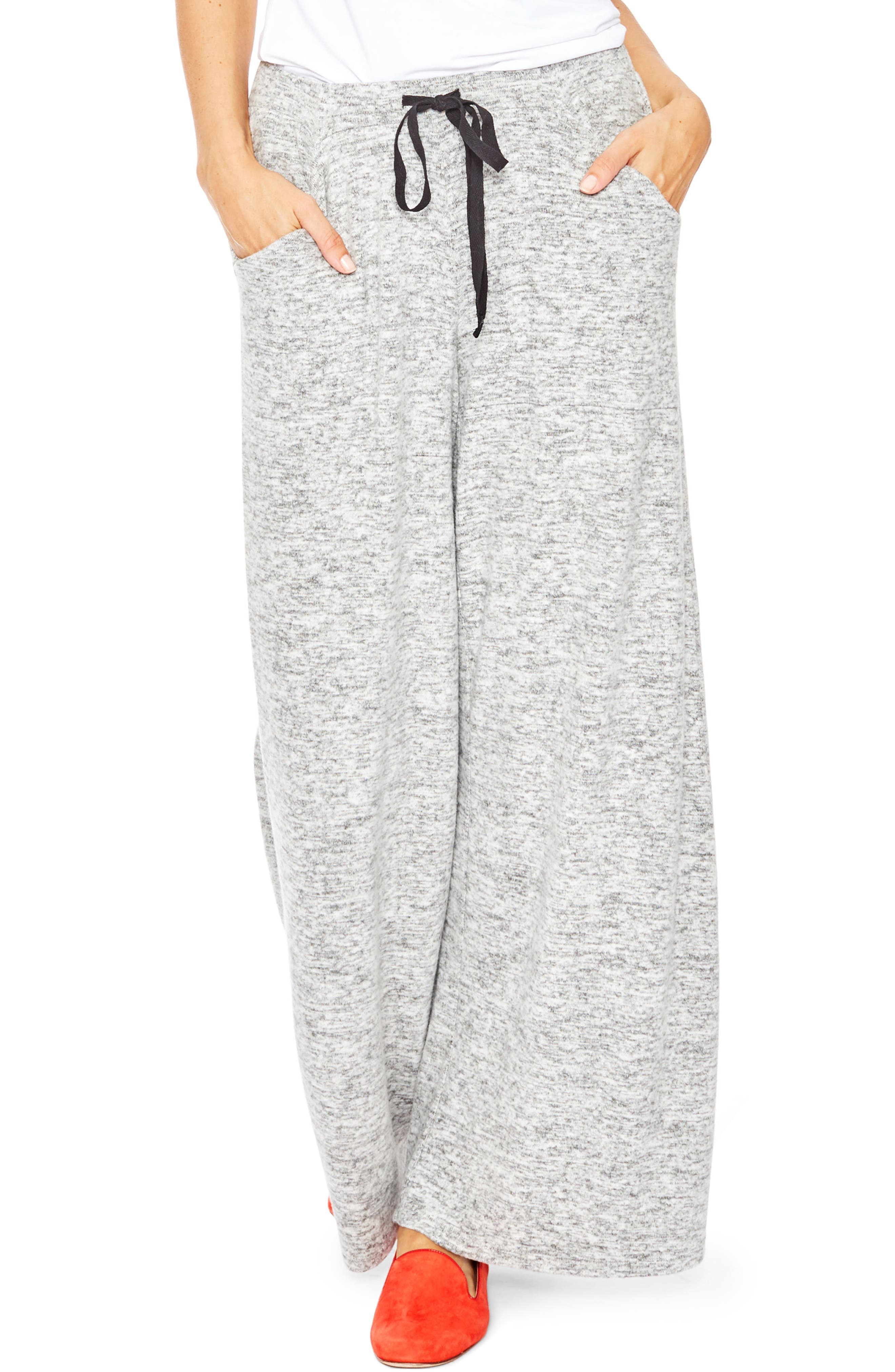 Riley Maternity Sweatpants,                         Main,                         color, GREY MELANGE