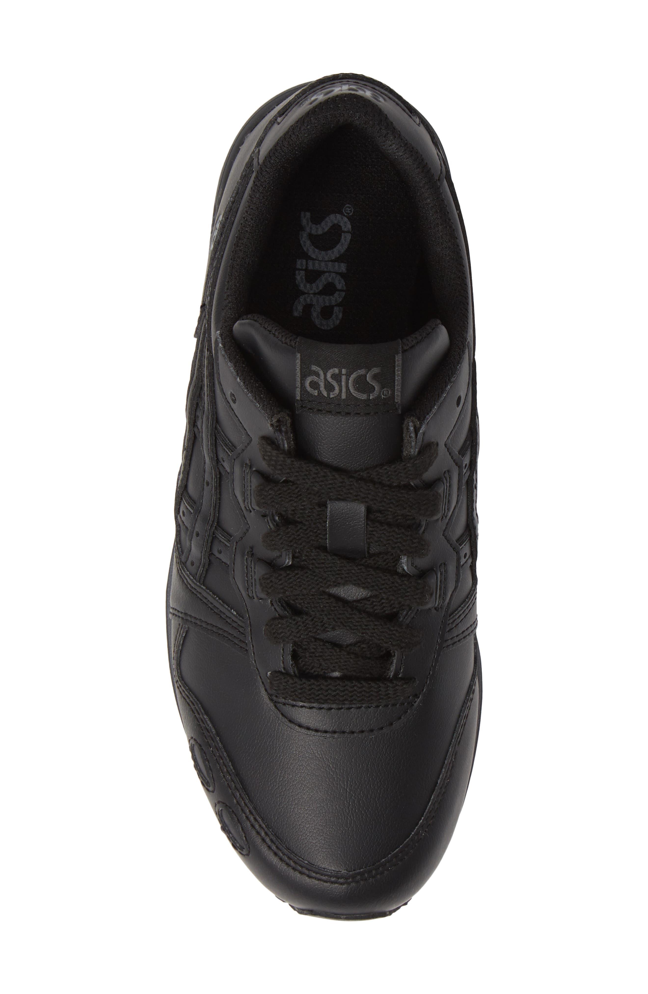GEL-Lyte III Sneaker,                             Alternate thumbnail 5, color,                             BLACK/ BLACK