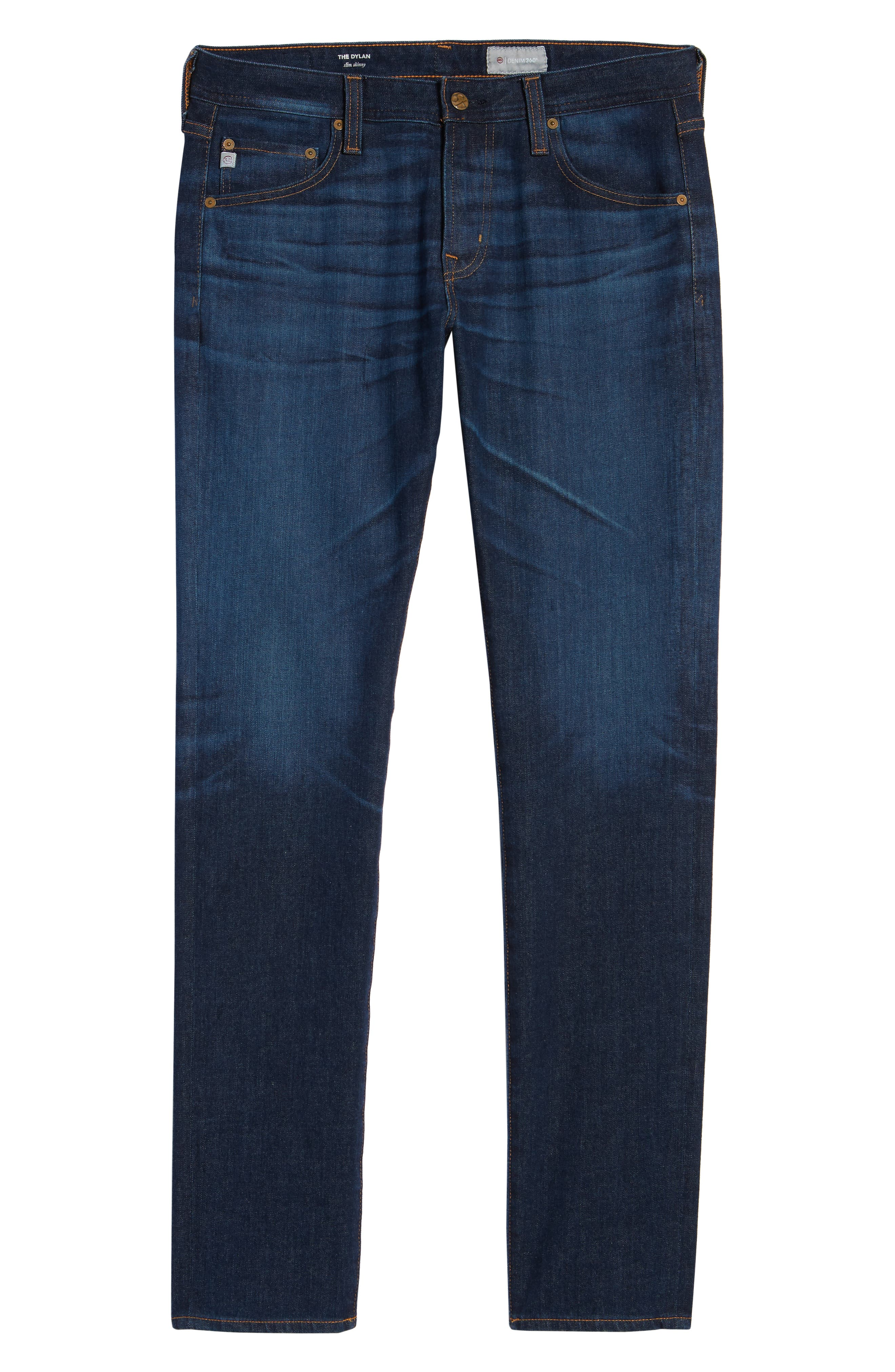 Dylan Skinny Fit Jeans,                             Alternate thumbnail 6, color,                             5 YEARS