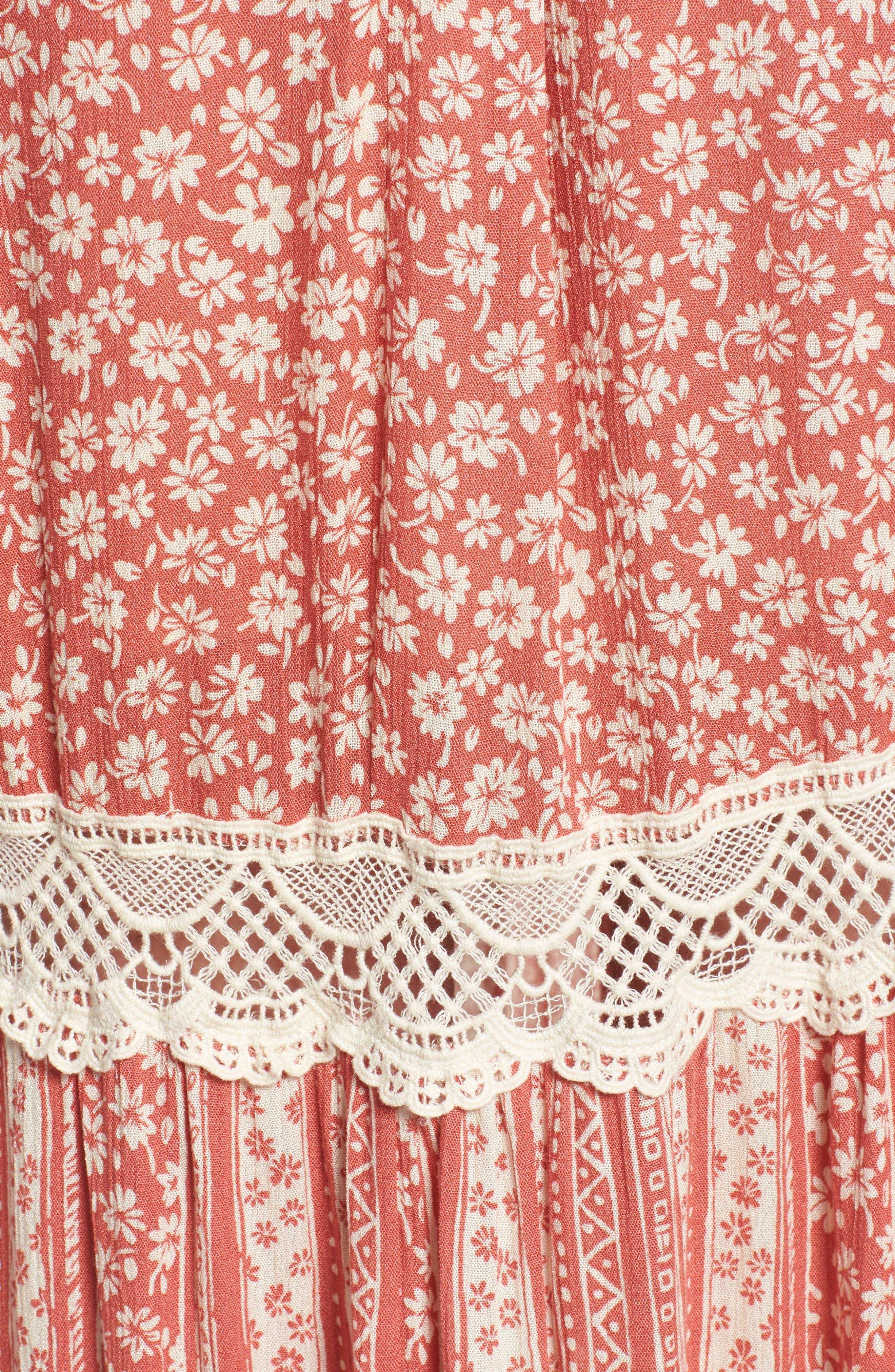 Sun's Out Halter Maxi Dress,                             Alternate thumbnail 5, color,                             951
