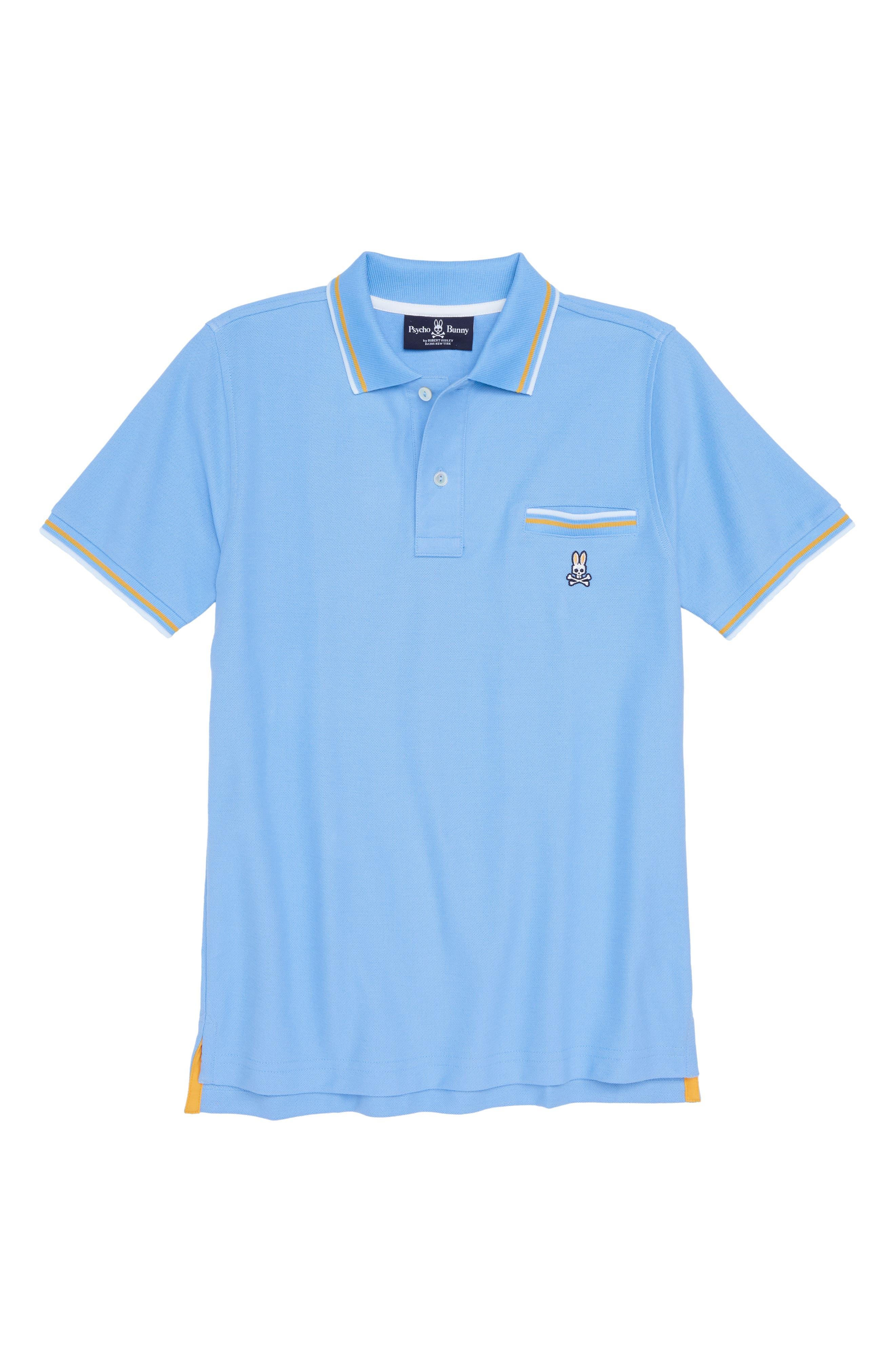 Binfield Pocket Polo,                         Main,                         color, ETHEREAL