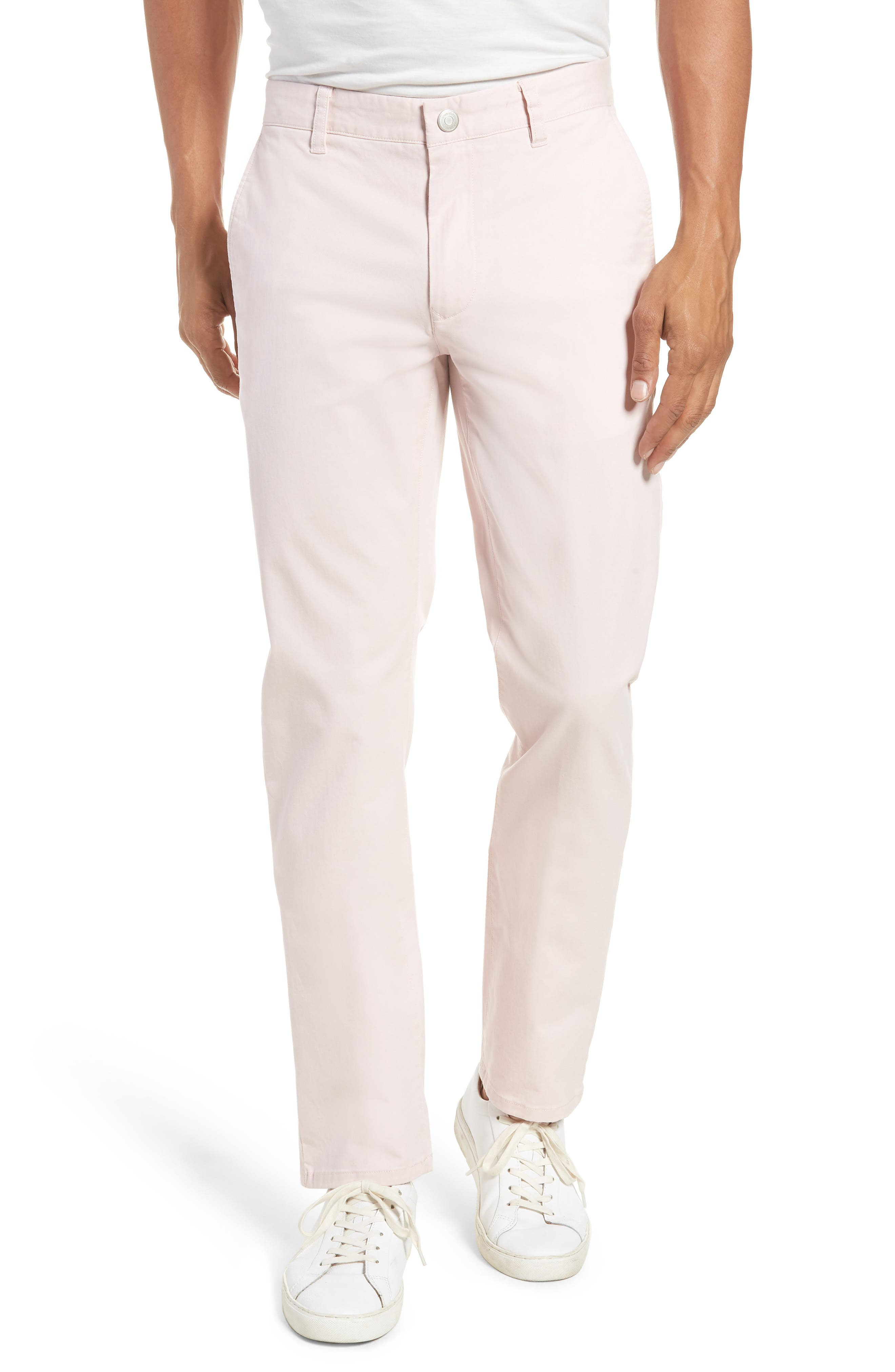 Tailored Fit Washed Stretch Cotton Chinos,                             Main thumbnail 19, color,