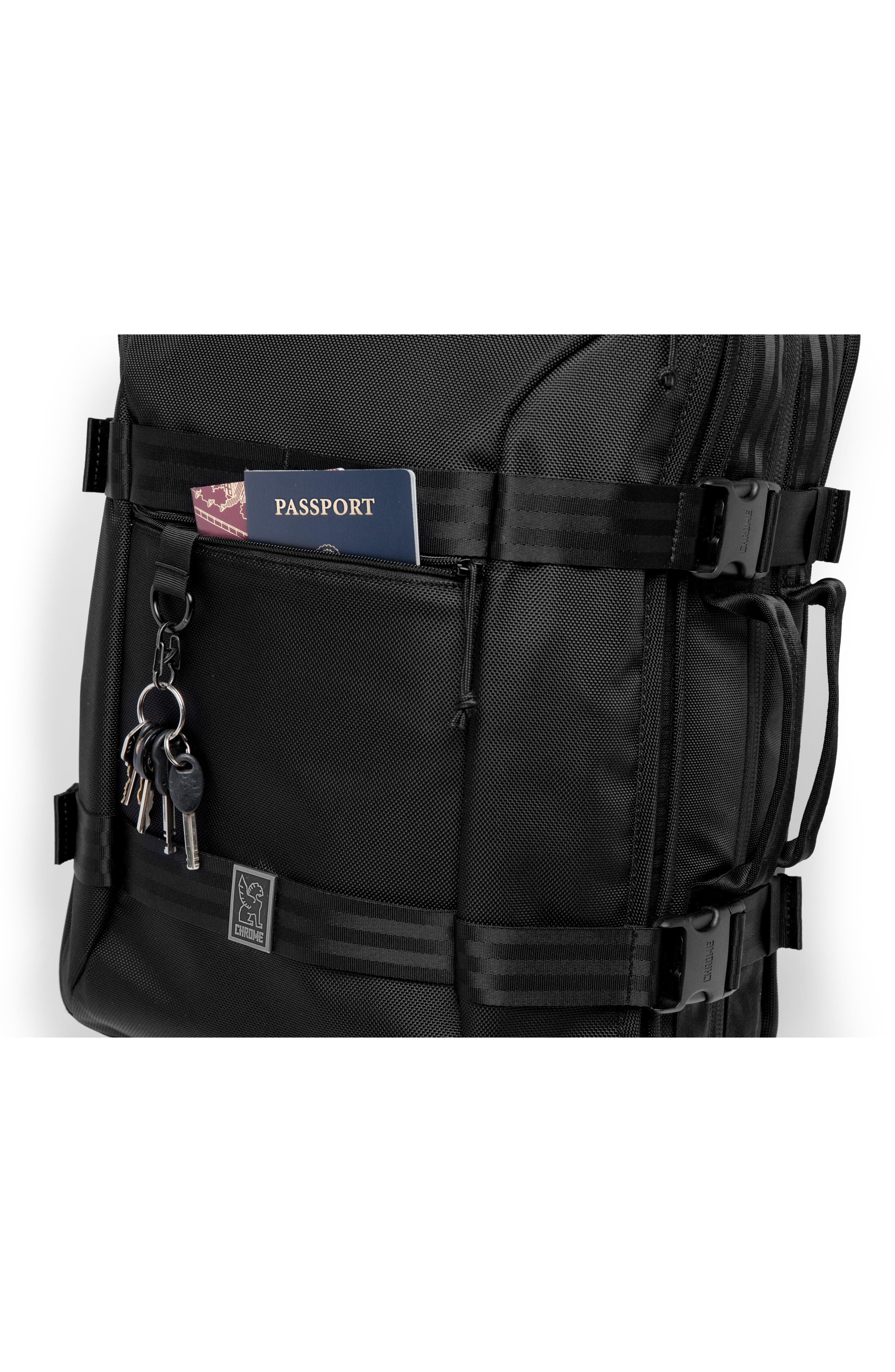 Macheto Travel Backpack,                             Alternate thumbnail 6, color,                             ALL BLACK