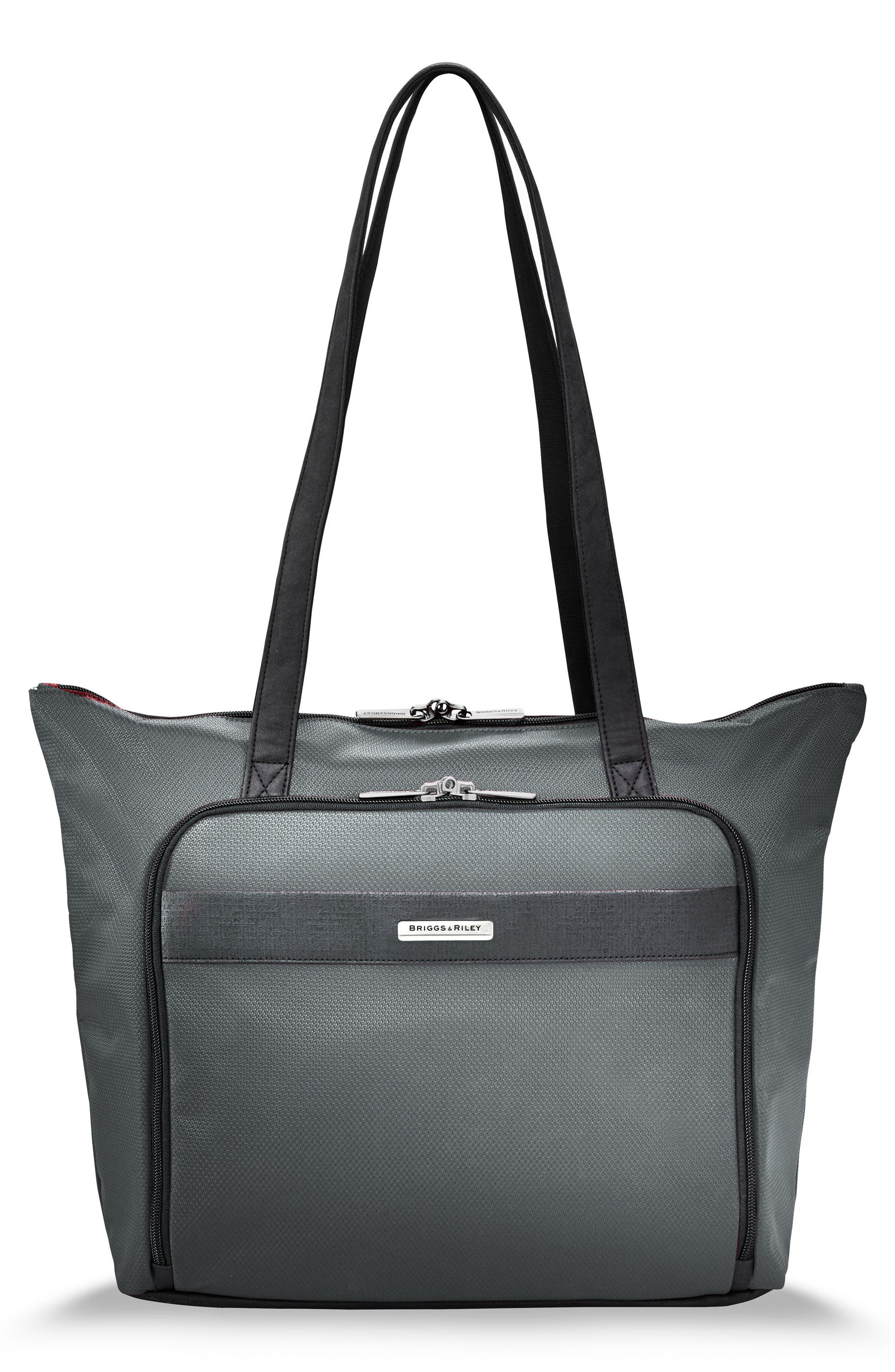 BRIGGS & RILEY,                             Transcend 400 Tote Bag,                             Main thumbnail 1, color,                             SLATE GREY