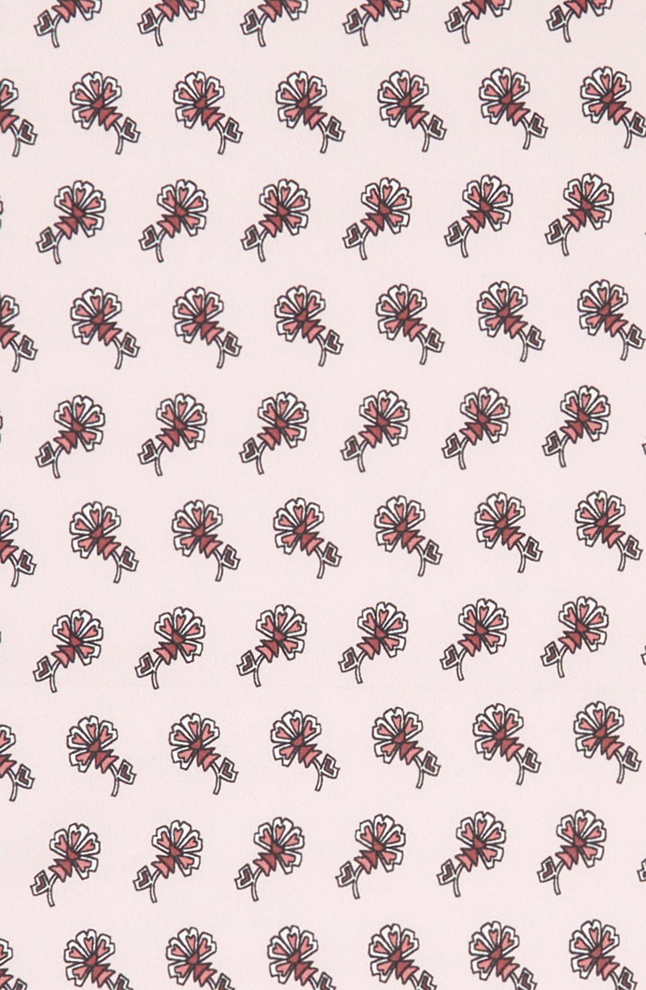 Tiled Rosette Silk Bandana,                             Alternate thumbnail 3, color,                             600