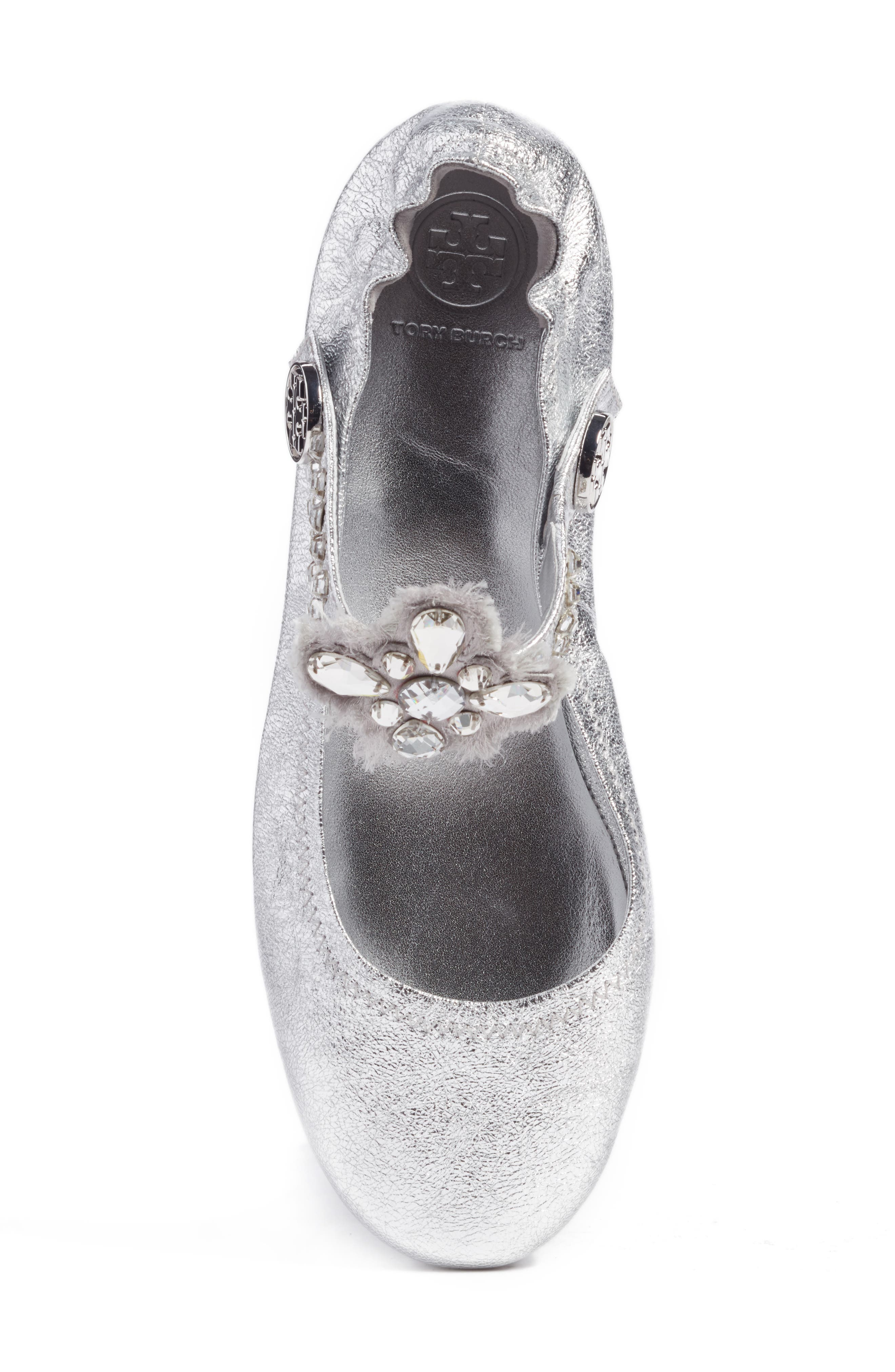 Minnie Embellished Convertible Strap Ballet Flat,                             Alternate thumbnail 17, color,