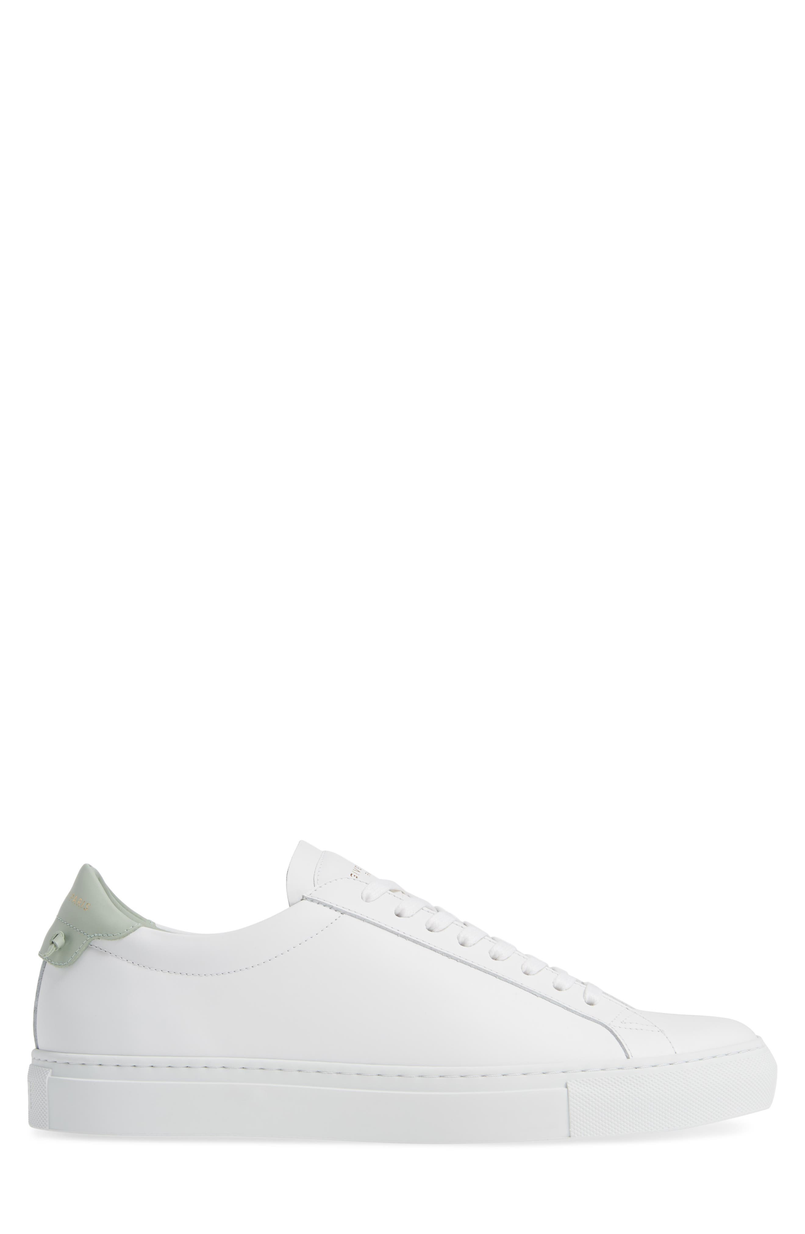 'Urban Knots Lo' Sneaker,                             Alternate thumbnail 3, color,                             WHITE/ GREEN