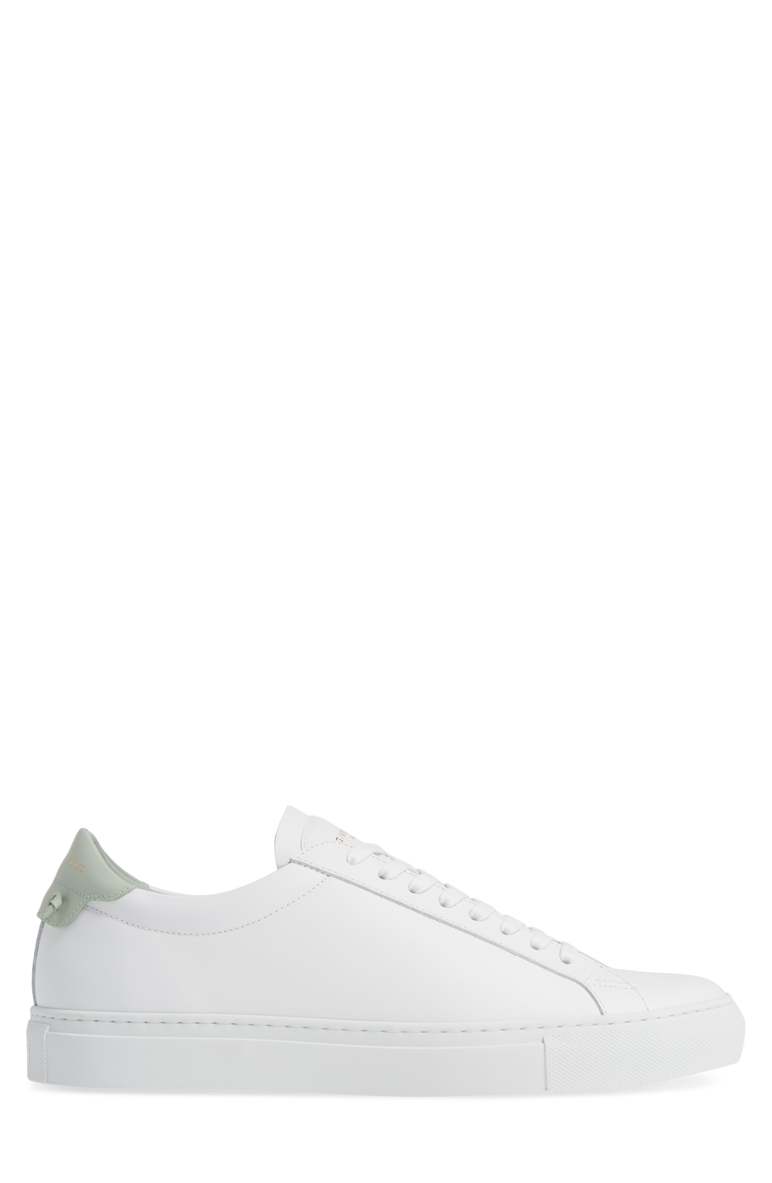 'Urban Knots Lo' Sneaker,                             Alternate thumbnail 3, color,                             WHITE/ GREEN