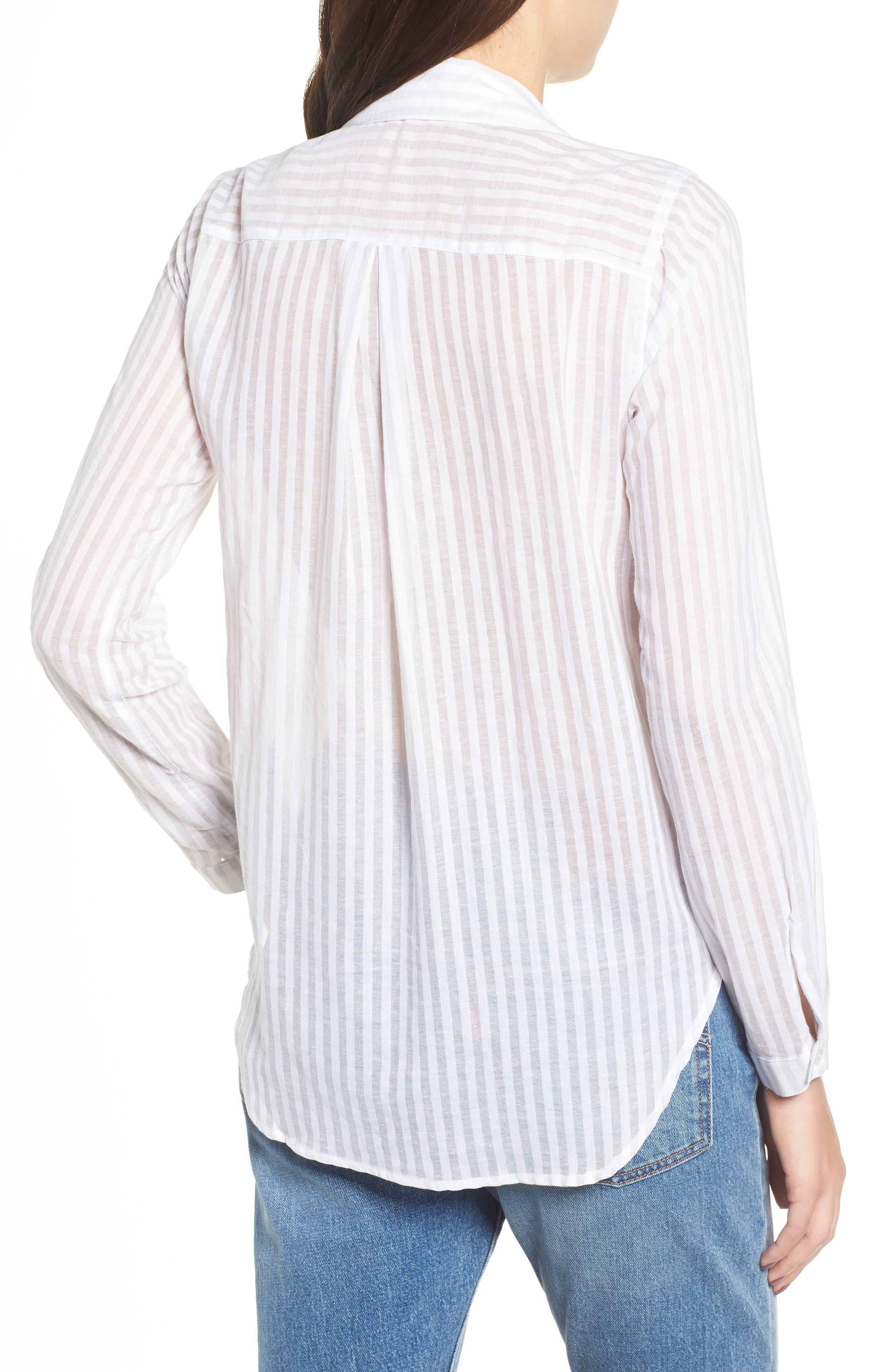 Shadow Stripe Shirt,                             Alternate thumbnail 2, color,                             025