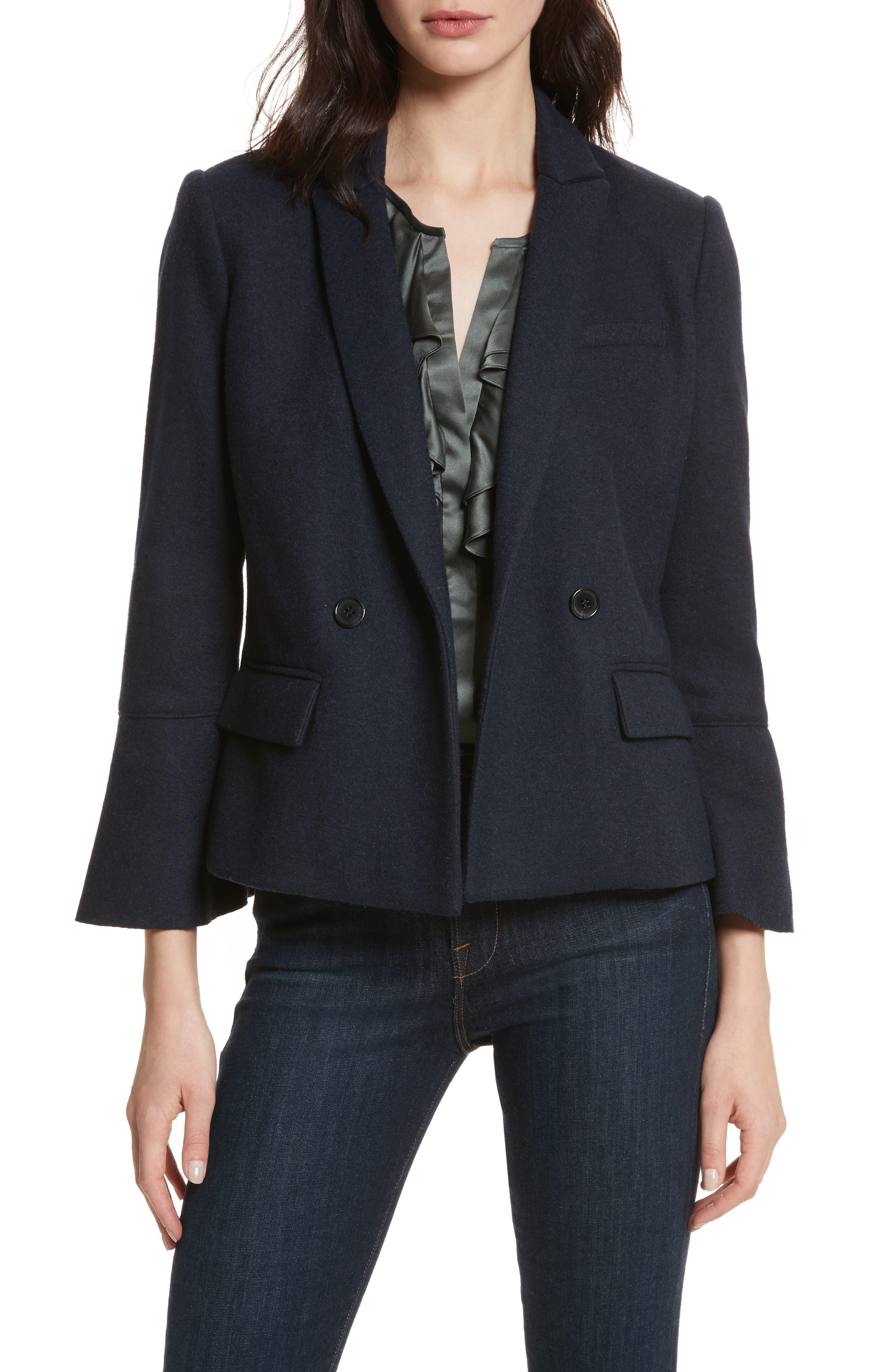 Aeolia Bell Sleeve Jacket,                         Main,                         color, 418