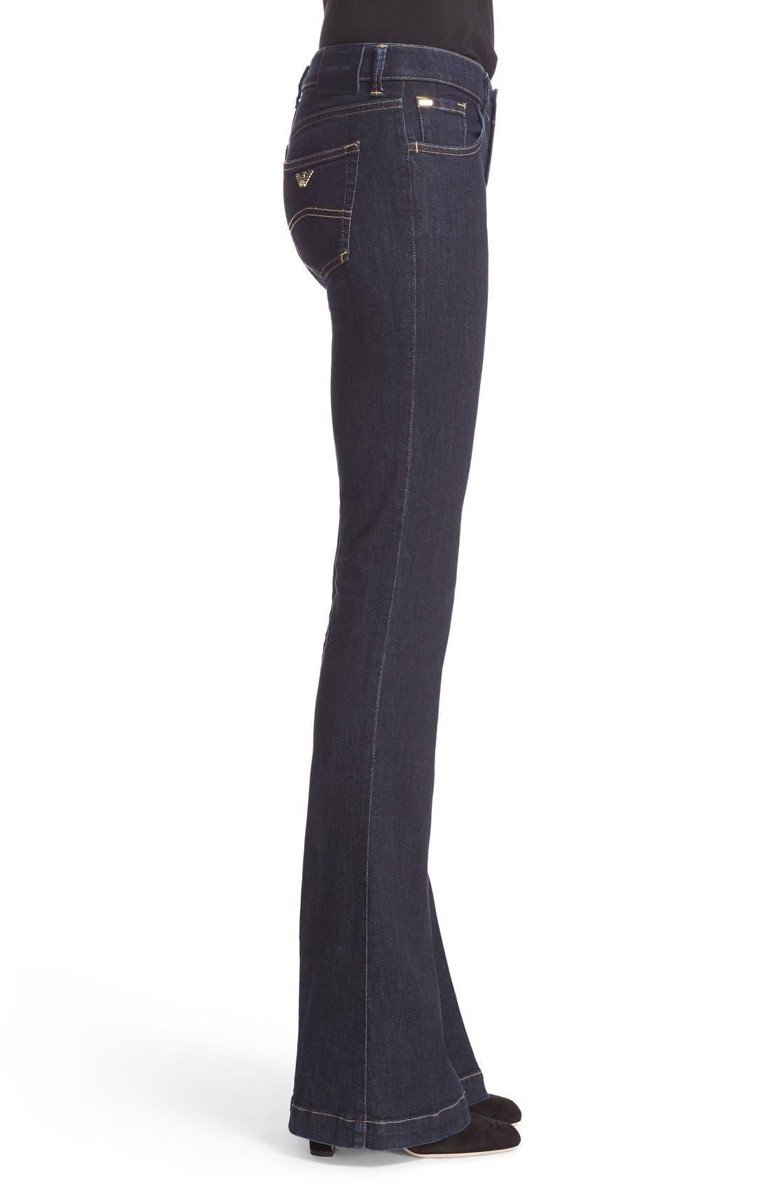 Armani Jeans Bootcut Jeans,                             Alternate thumbnail 2, color,                             400