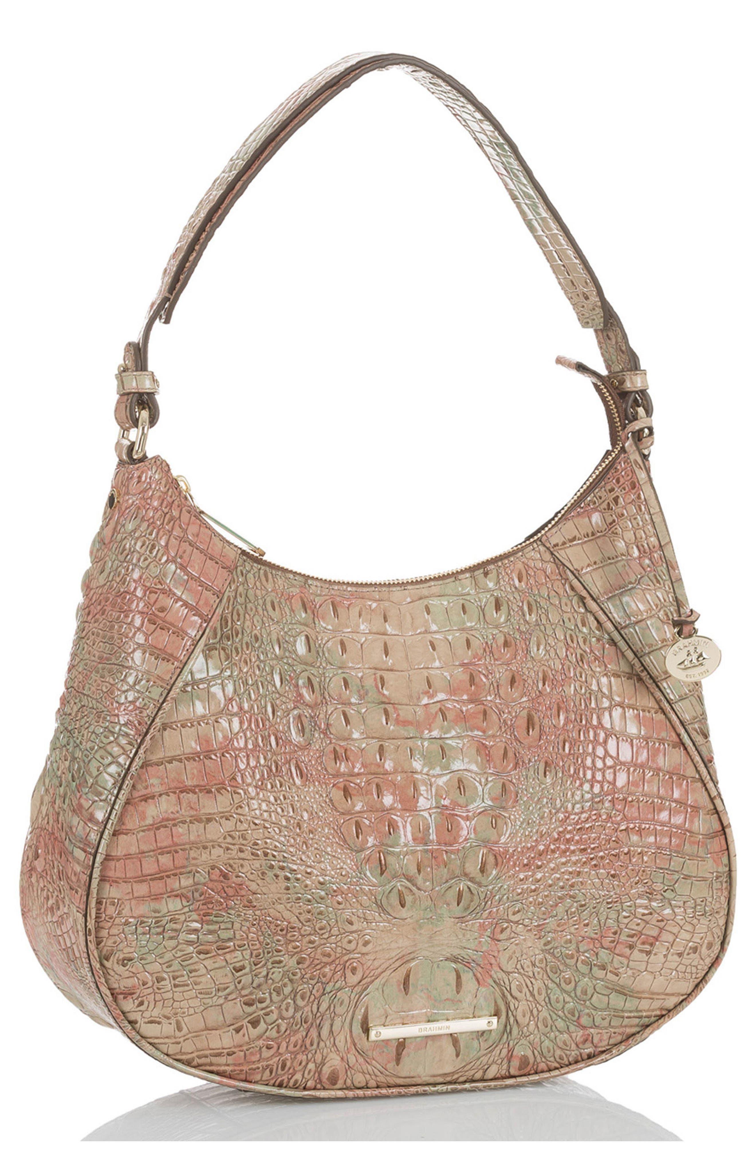 Melbourne Amira Shoulder Bag,                             Alternate thumbnail 4, color,                             SAHARA