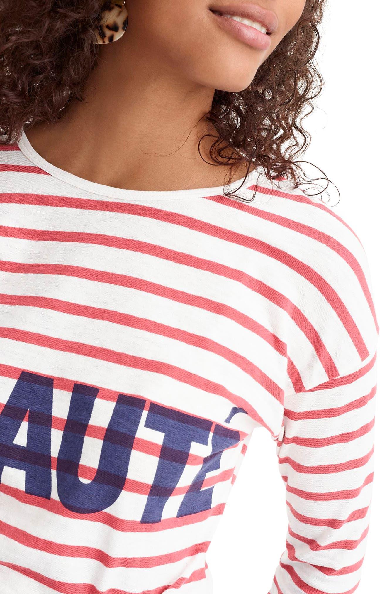Beauté T-Shirt,                             Alternate thumbnail 4, color,                             600