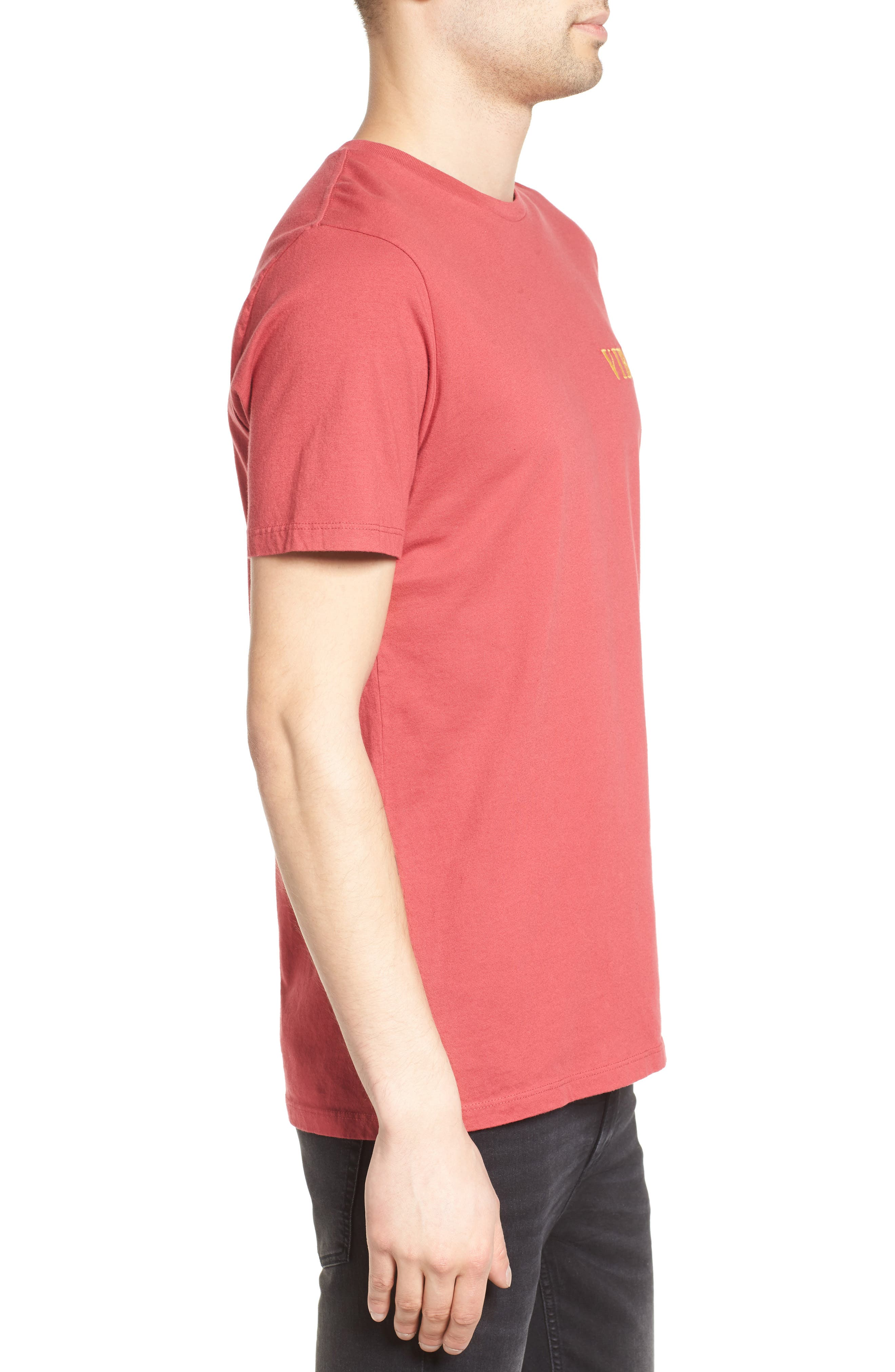 Vibes Embroidered T-Shirt,                             Alternate thumbnail 3, color,                             685