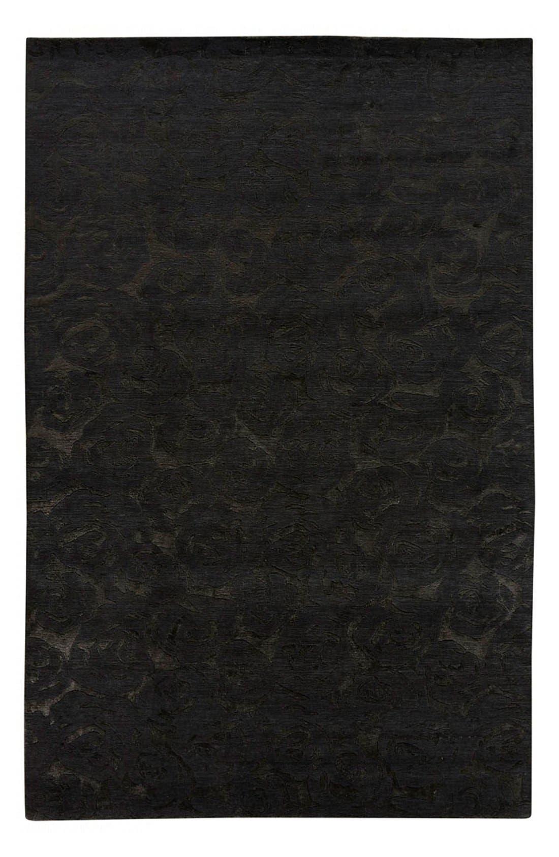 'noho' premium wool blend rug,                             Main thumbnail 1, color,                             001