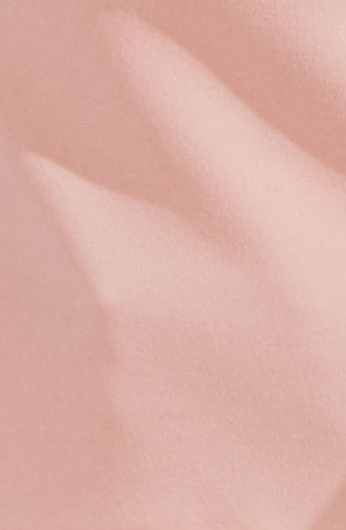 Tie Cold Shoulder Crepe Ponte Blouse,                             Alternate thumbnail 6, color,