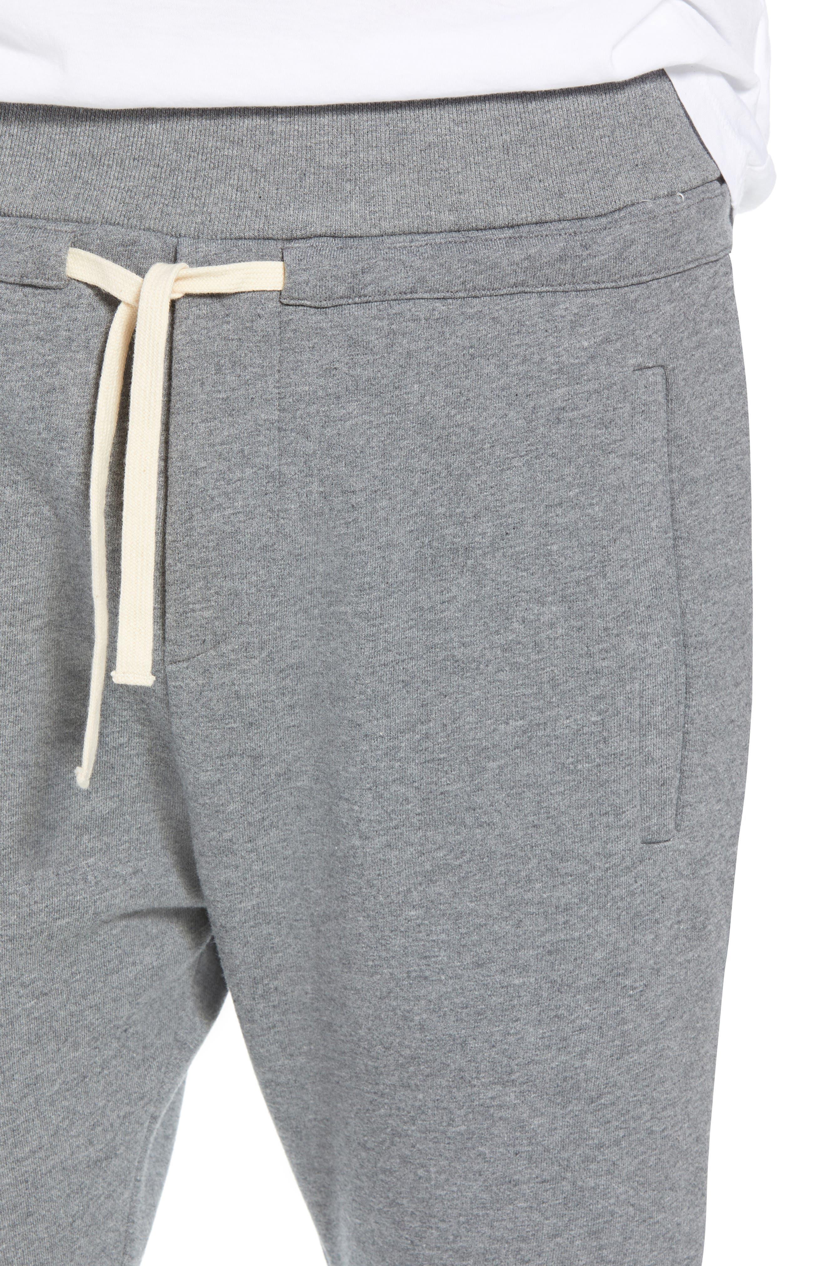 Slim Fit Jogger Pants,                             Alternate thumbnail 4, color,                             GREY
