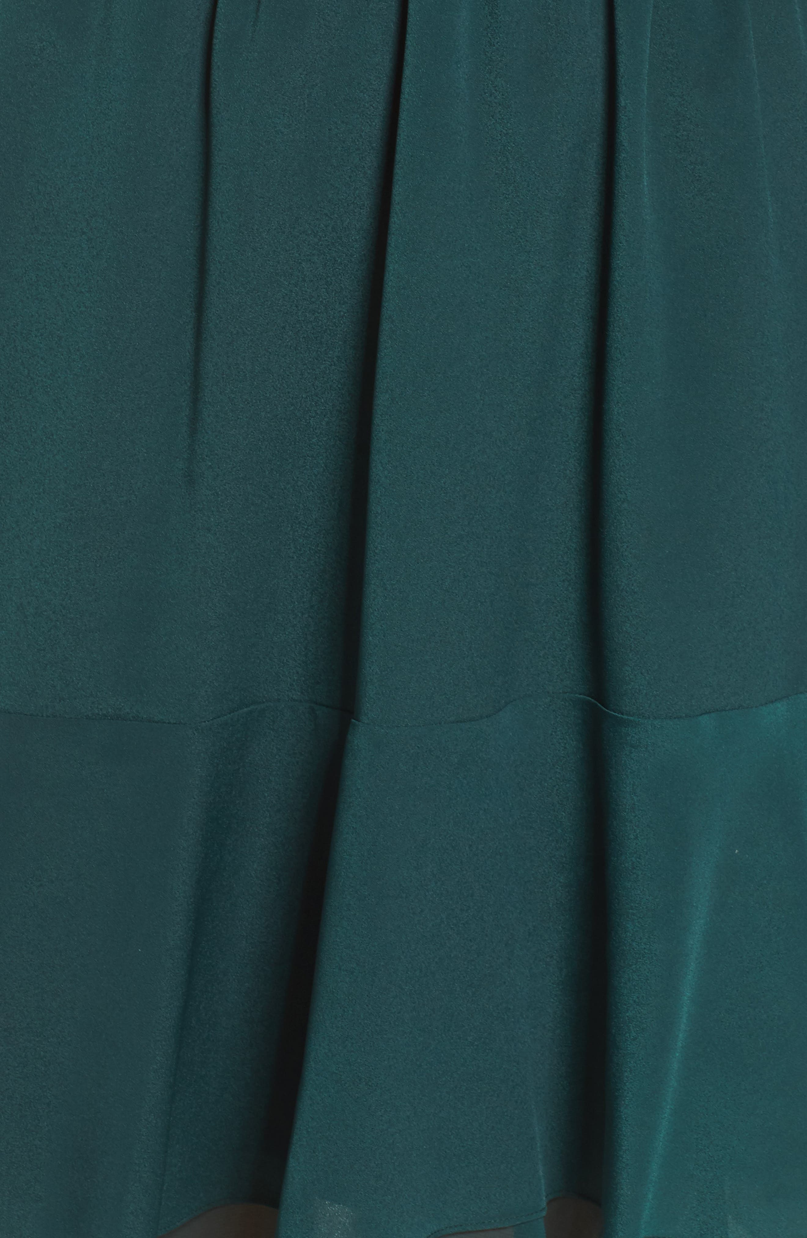 Keely Ruffle Blouson Dress,                             Alternate thumbnail 5, color,                             309