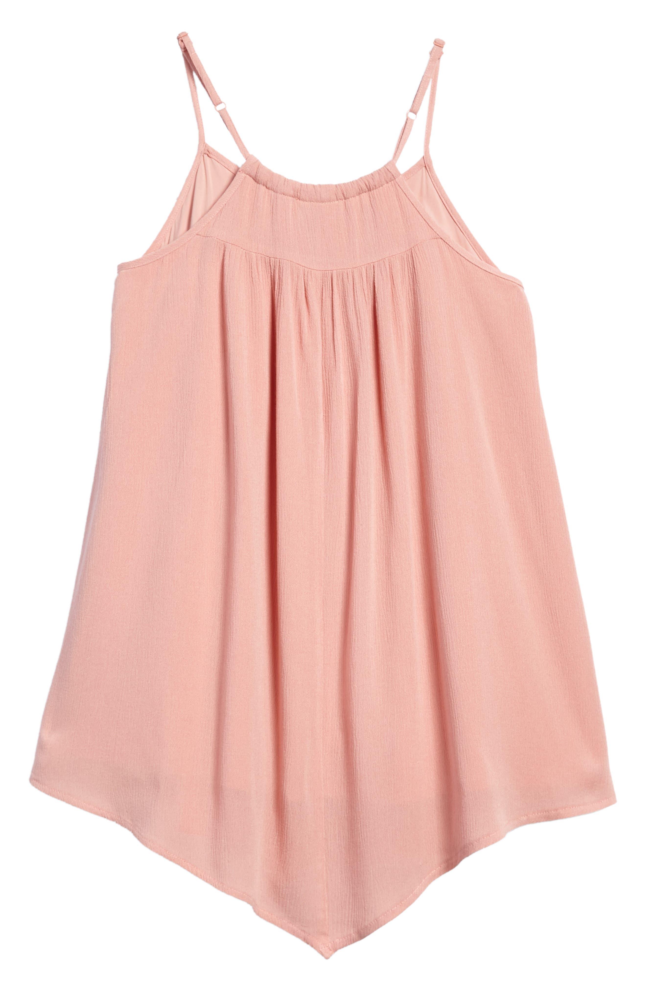 Lace Trim Trapeze Dress,                             Alternate thumbnail 2, color,                             950
