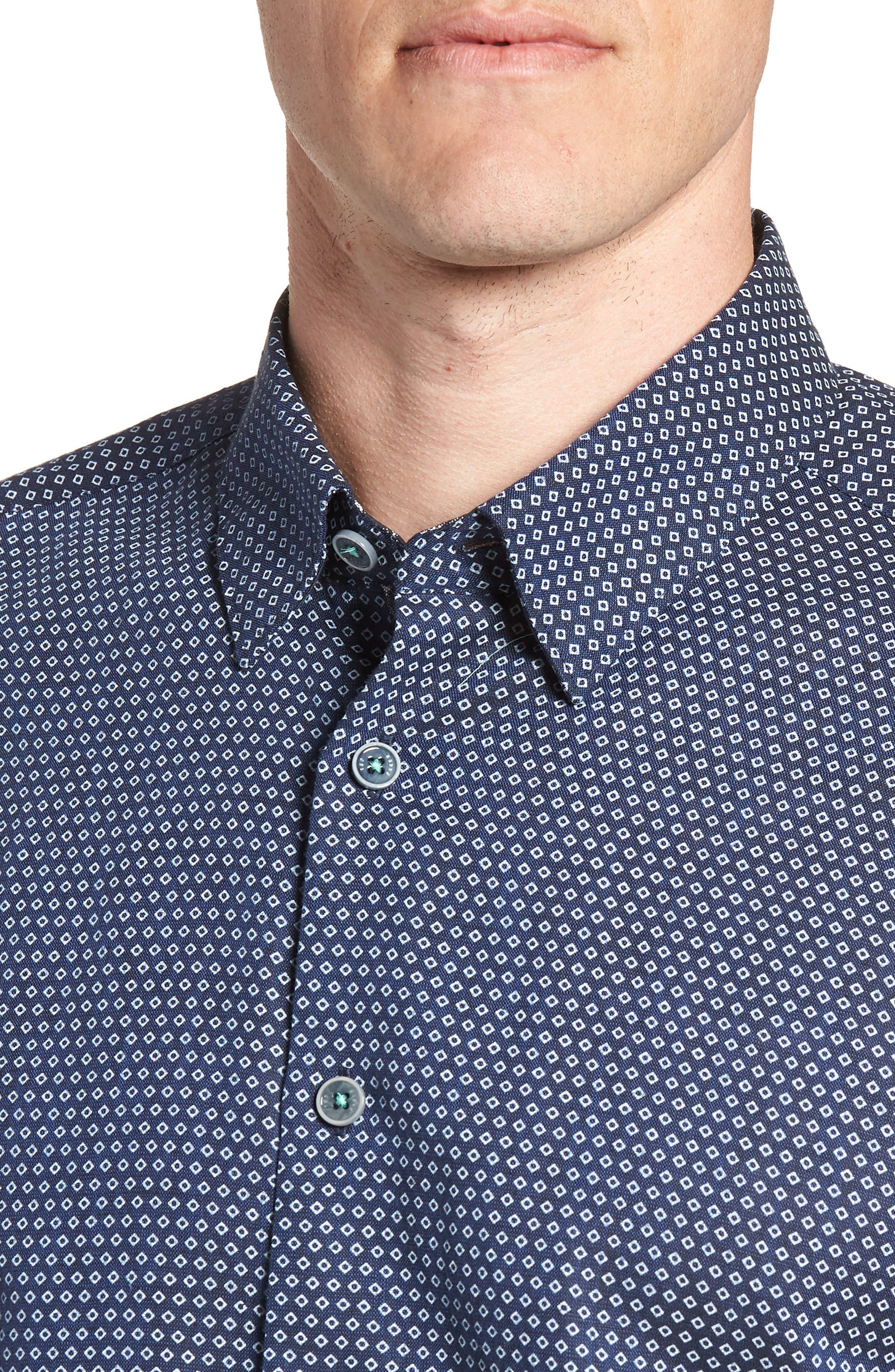 Sirobtt Short Sleeve Sport Shirt,                             Alternate thumbnail 8, color,